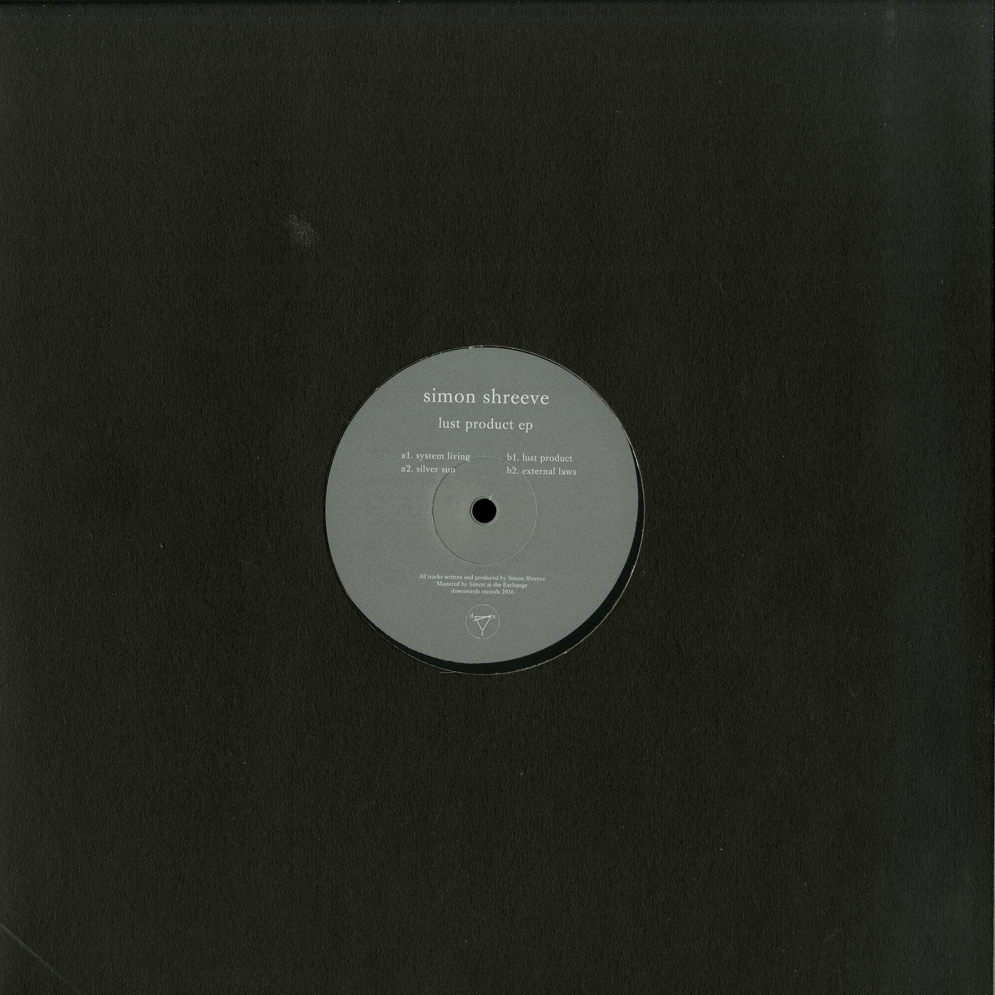 Simon Shreeve - LUST PRODUCT EP
