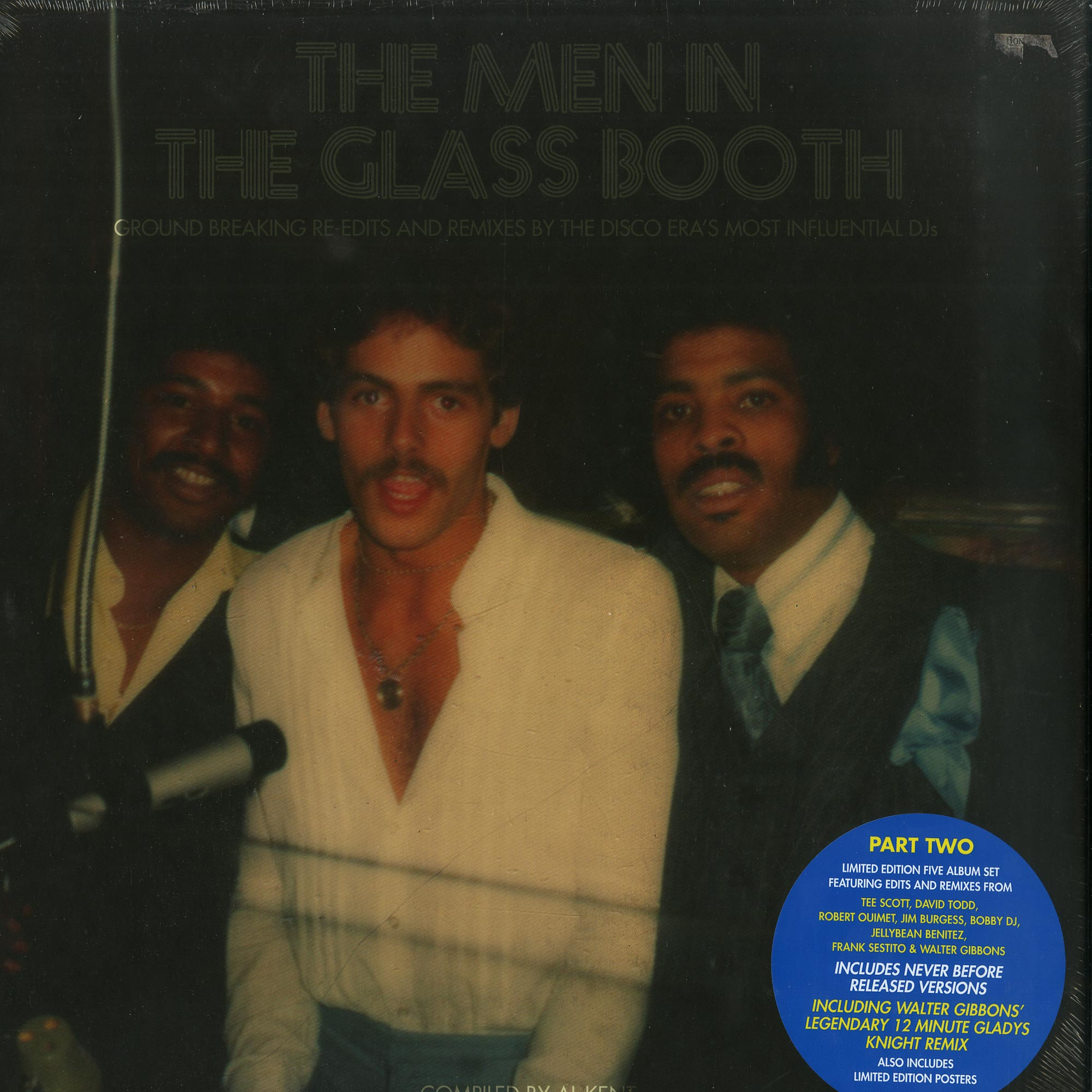 Various Artists - THE MEN IN THE GLASS BOOTH PART 2
