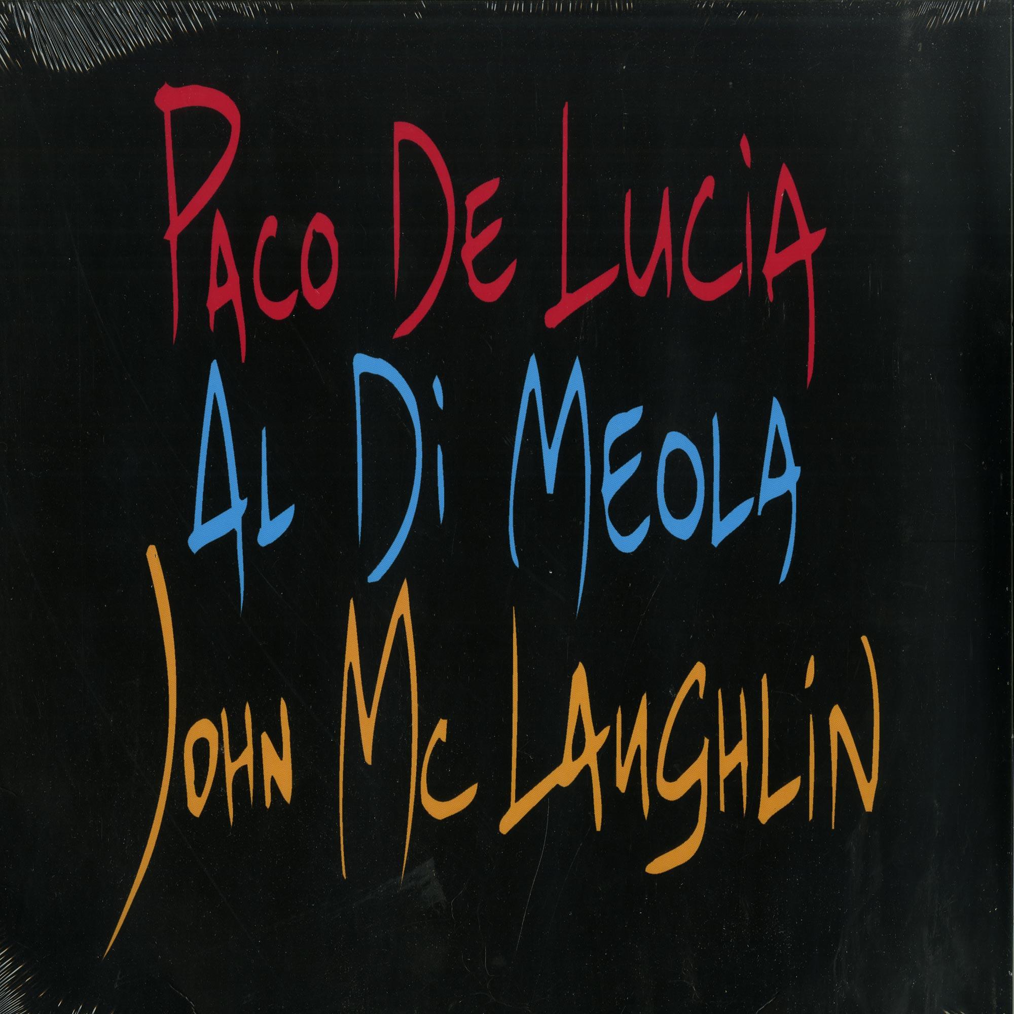 Paco De Lucía & Al Di Meola & John McLaughlin - THE GUITAR TRIO