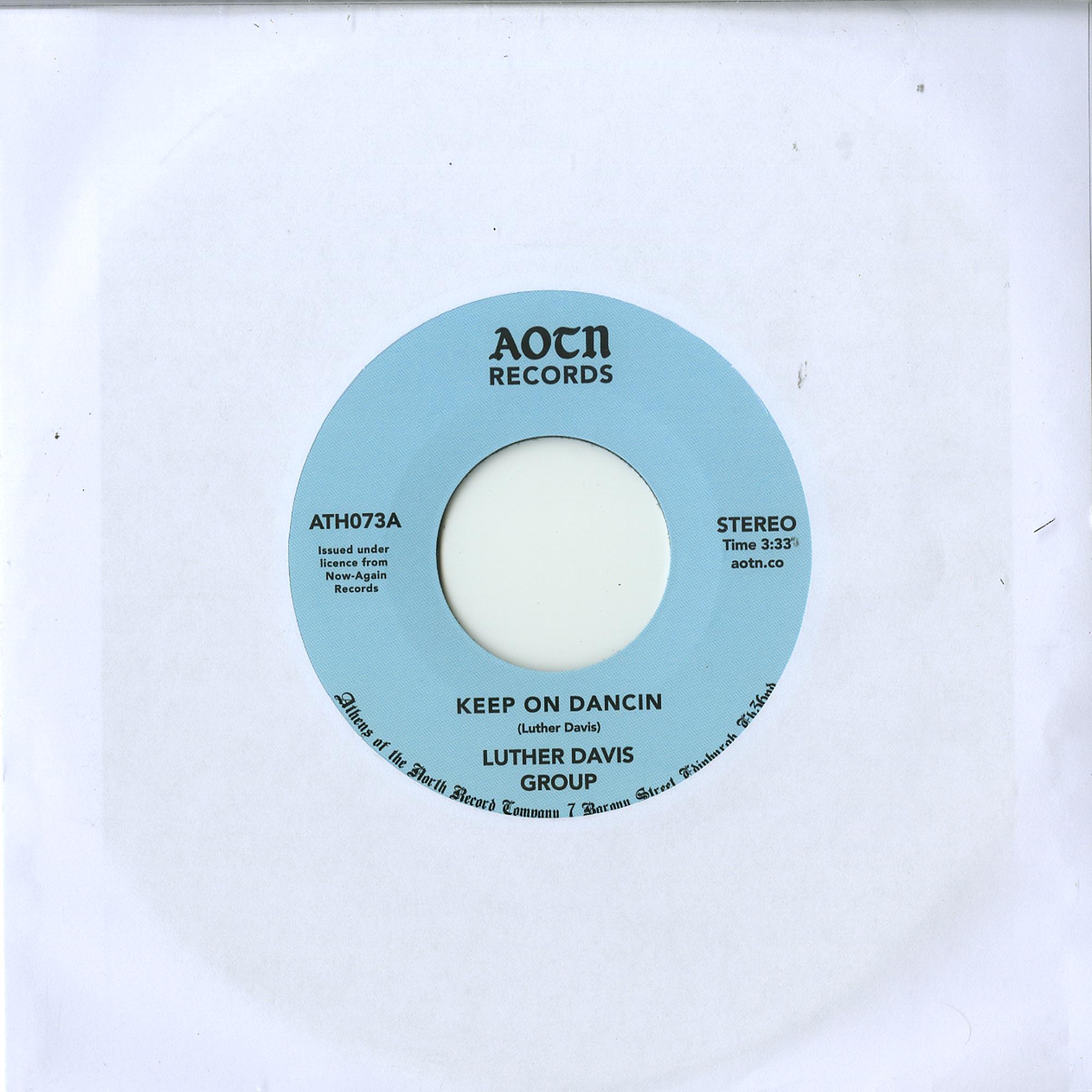 Luther Davis Group - KEEP ON DANCIN / YOU
