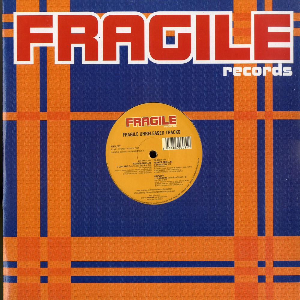 Various Artists - FRAGILE UNRELEASED TRACKS EP 1