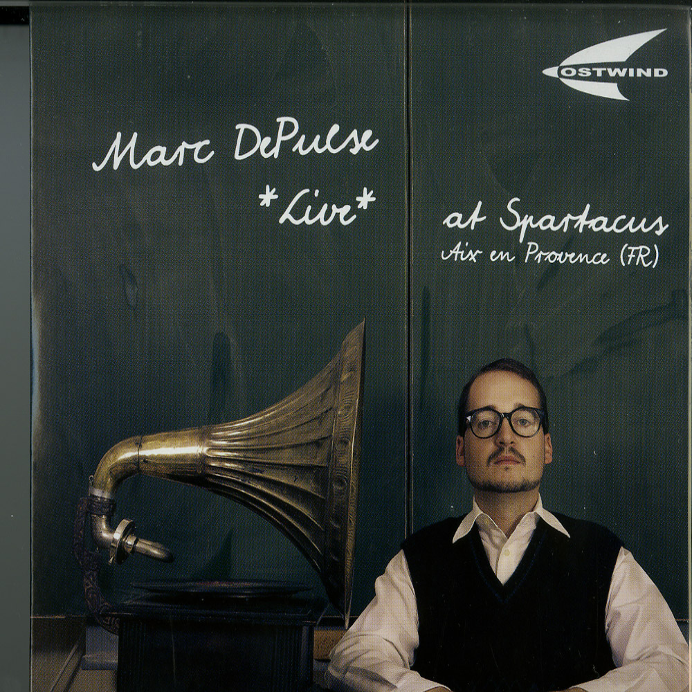 Marc DePulse - LIVE AT SPARTACUS AIX EN PROVENCE