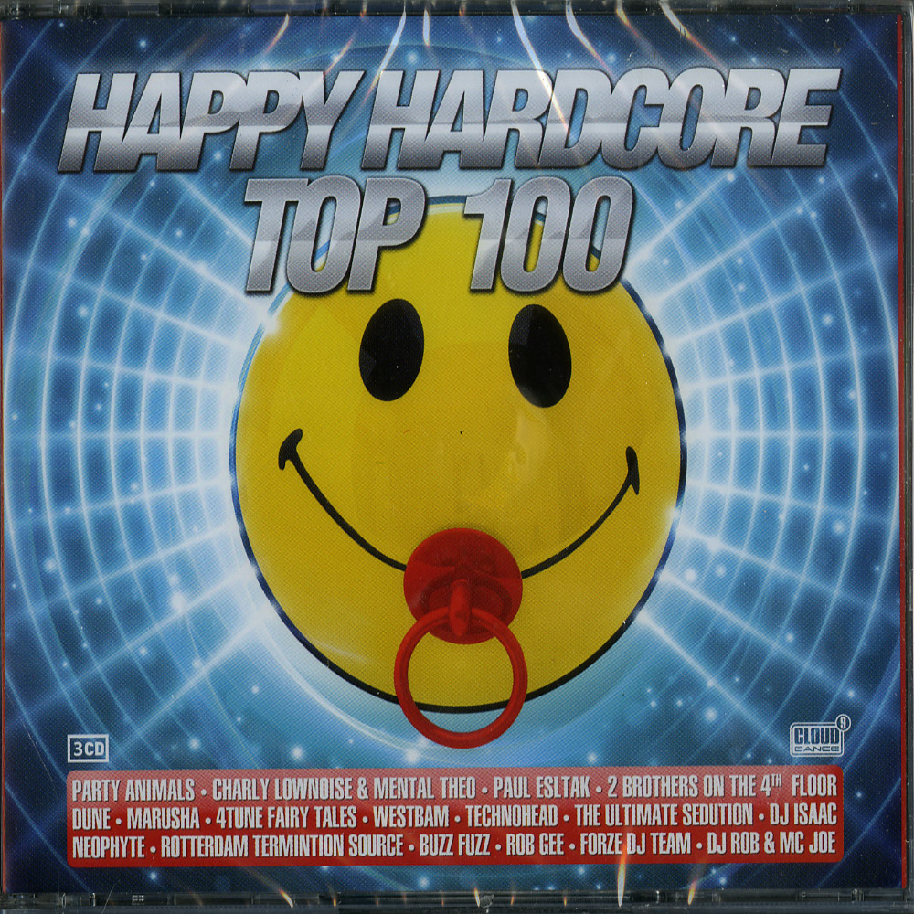 Various Artists - HAPPY HARDCORE TOP 100