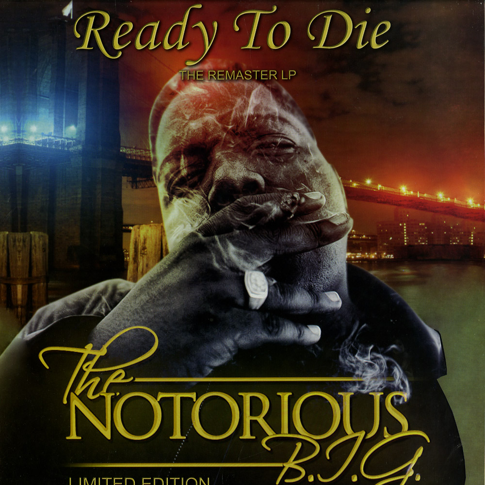 The Notorious B.I.G. - READY TO DIE - THE REMASTER LP