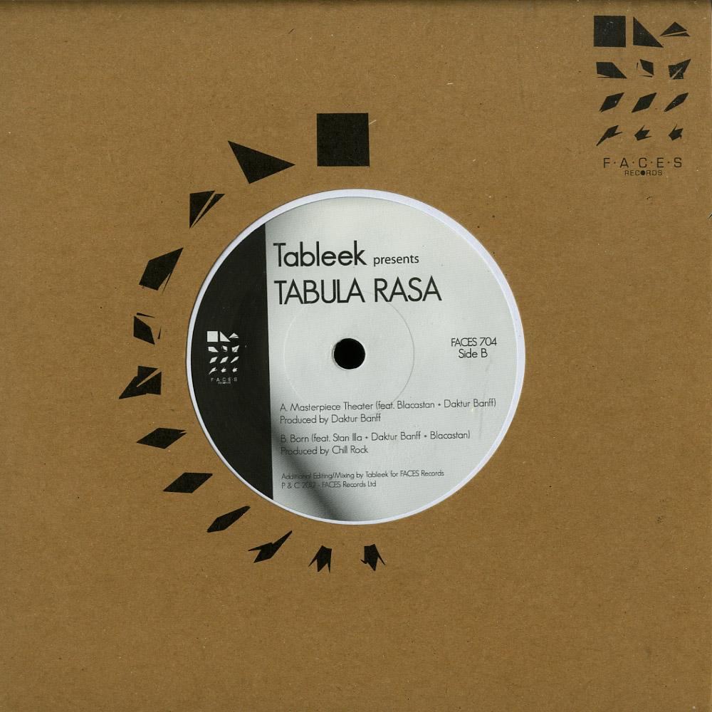 Tableek Presents Tabula Rasa - MASTAPIECE THEATER