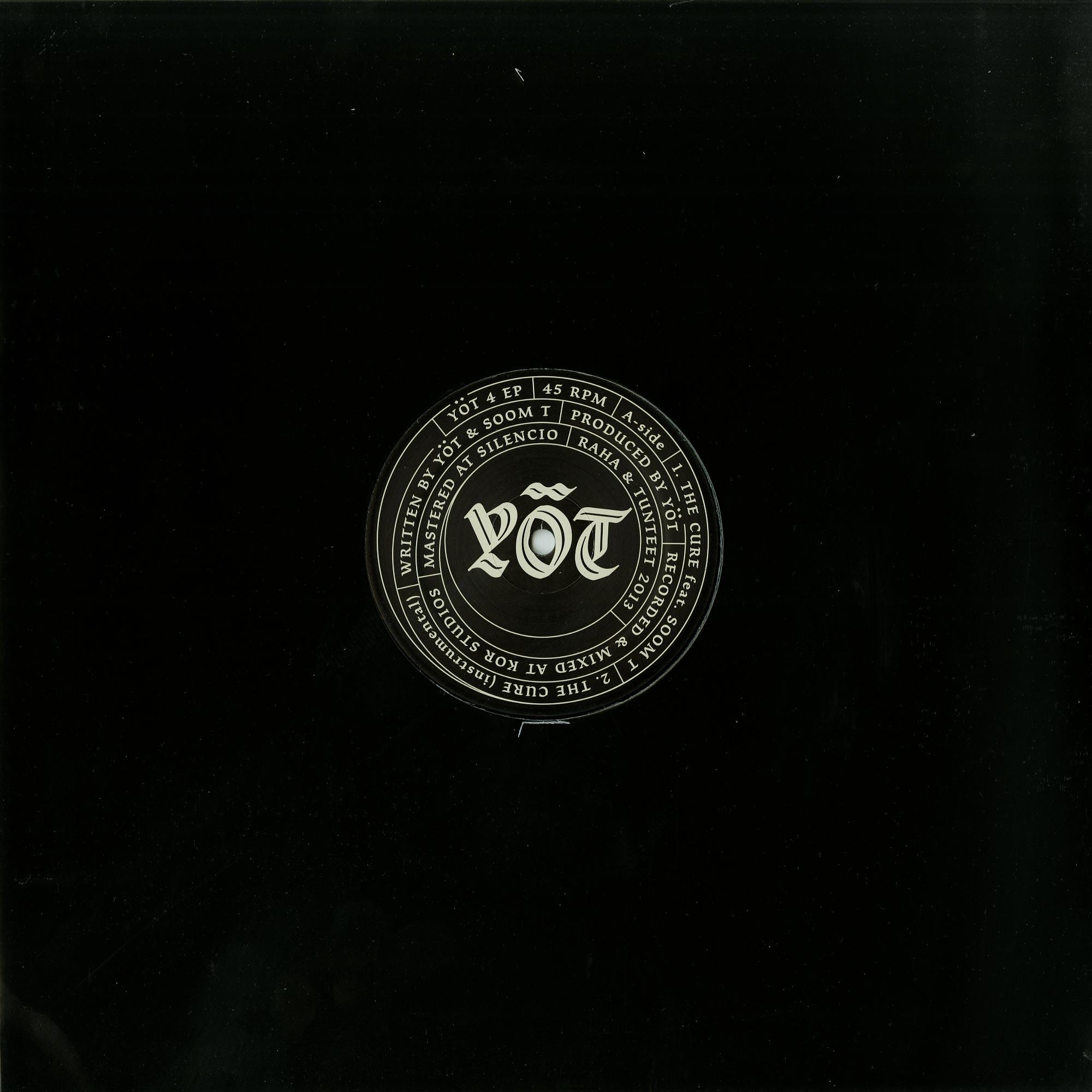 Yot & Soom T - YOT4 EP