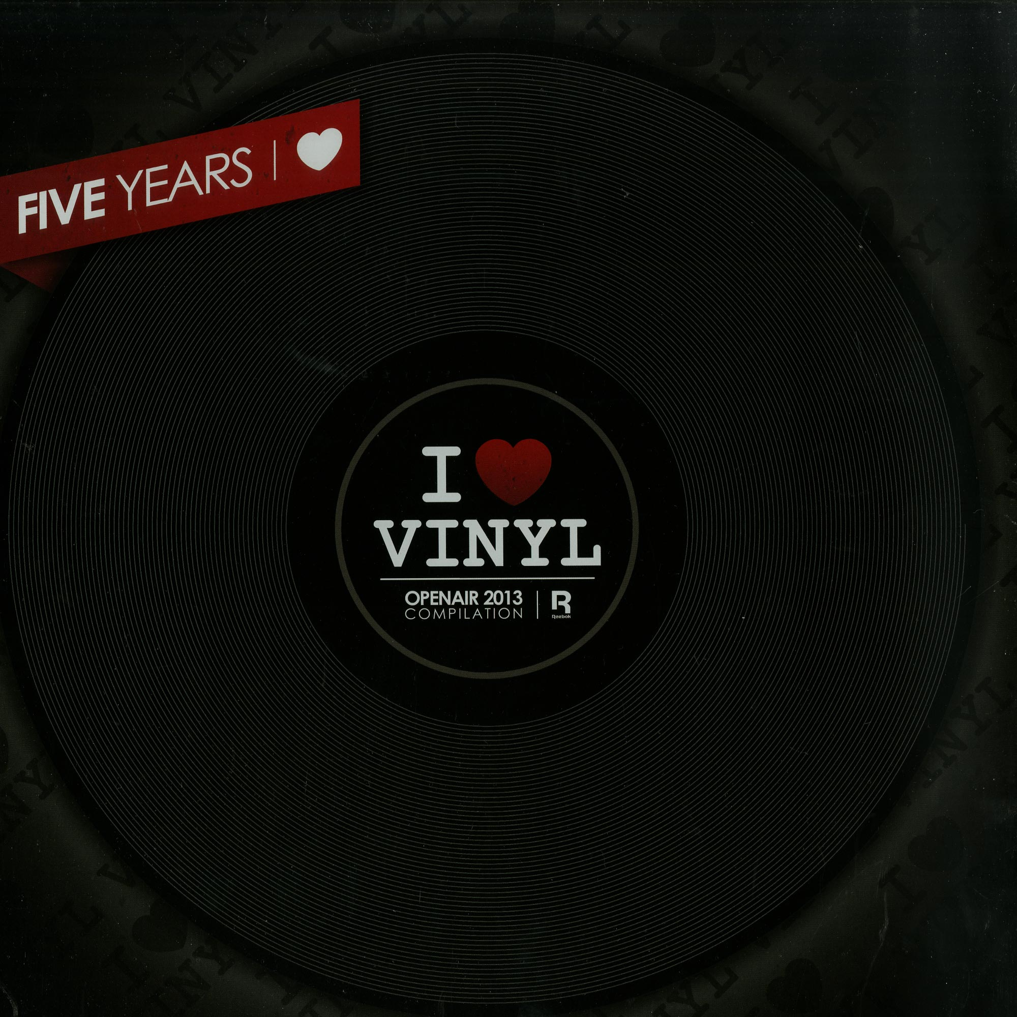 I Love Vinyl - OPEN AIR 2013 COMPILATION BOX