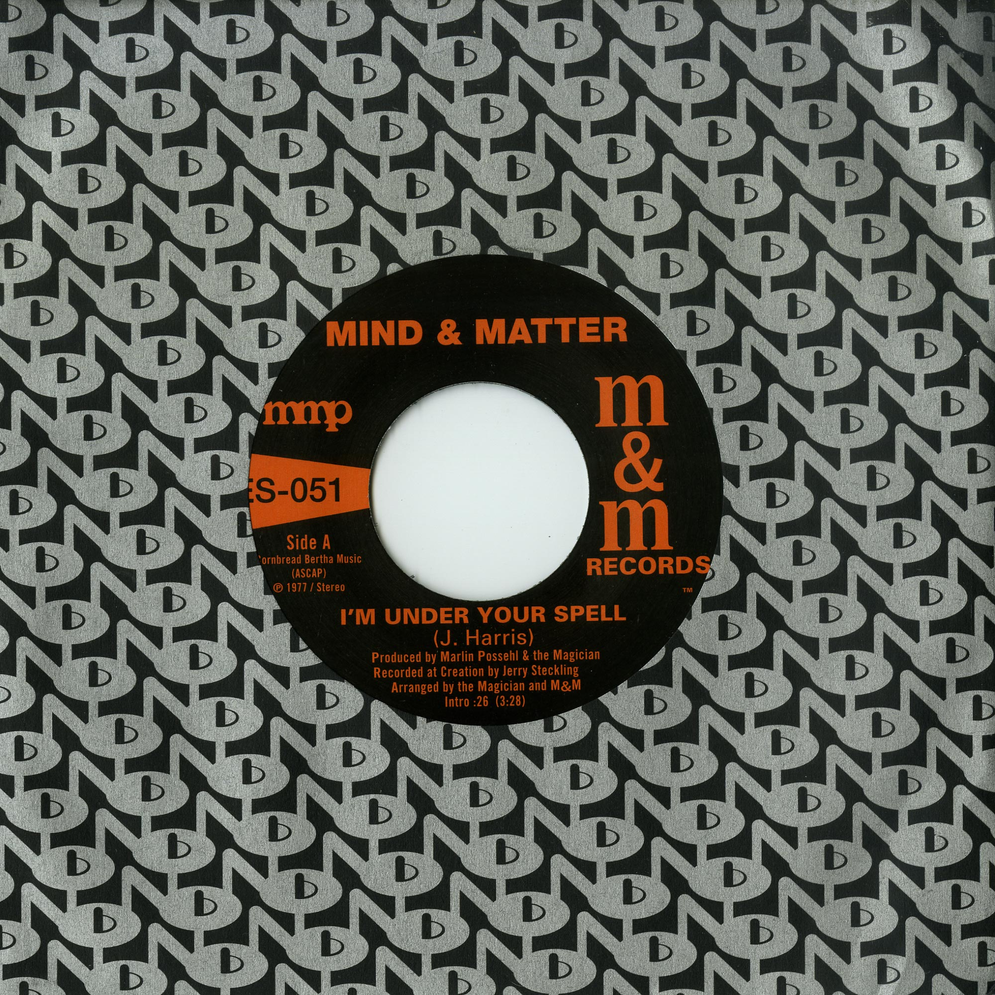 Mind & Matter - I M UNDER YOUR SPELL / SUNSHINE LADY