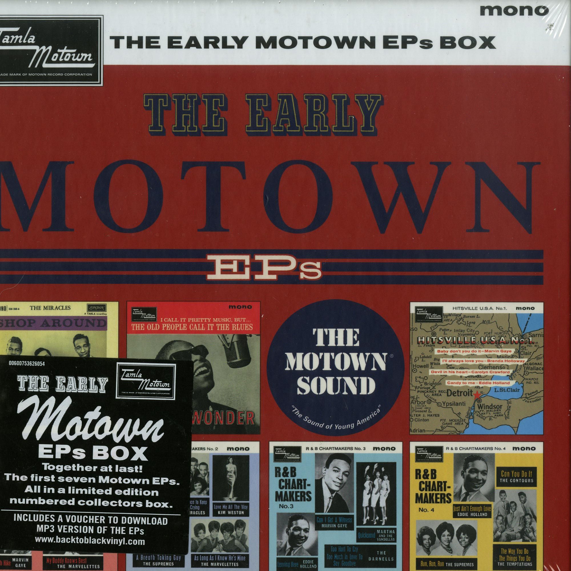 Various Artists - THE EARLY MOTOWN EPS