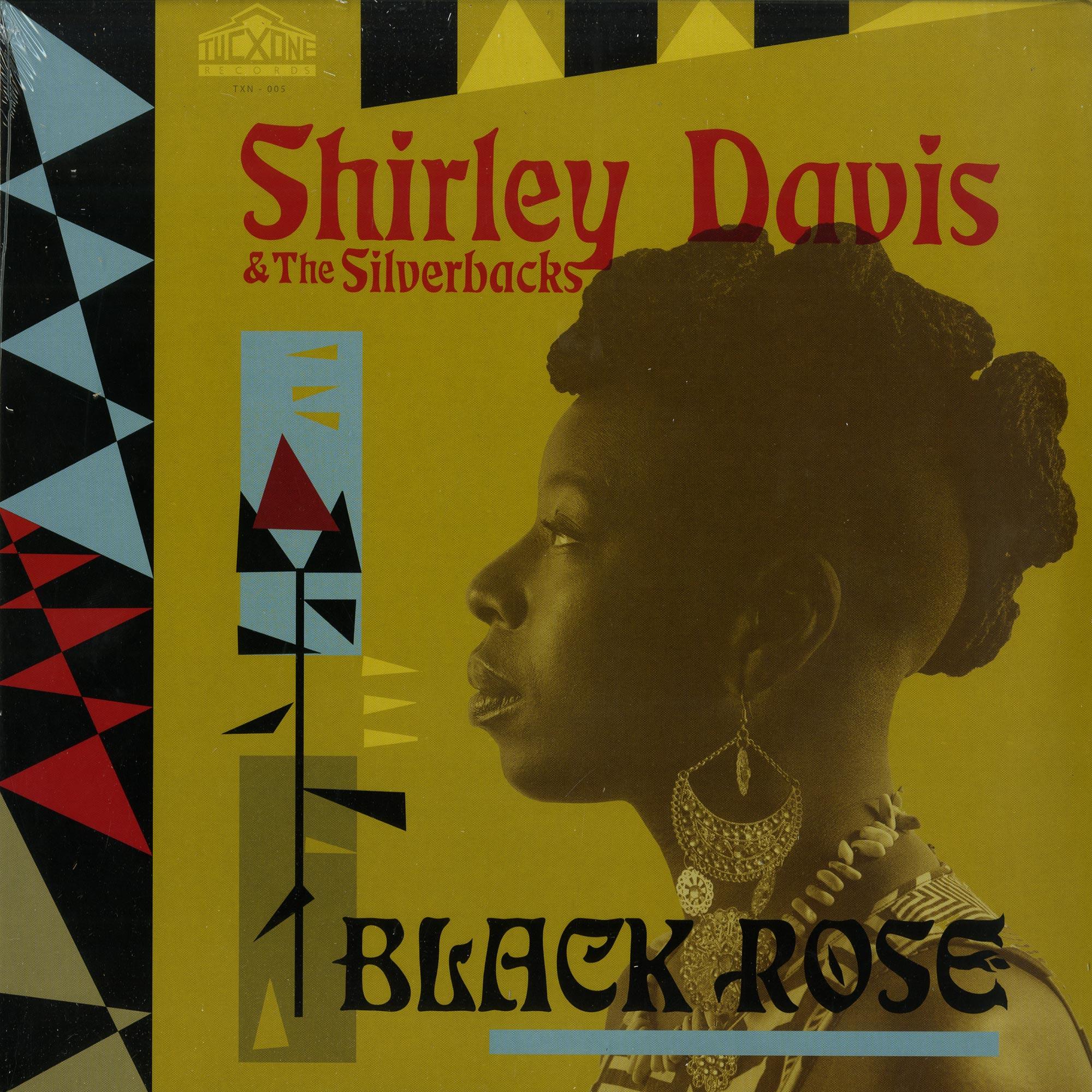 Shirley Davis & The Silverbacks - BLACK ROSE