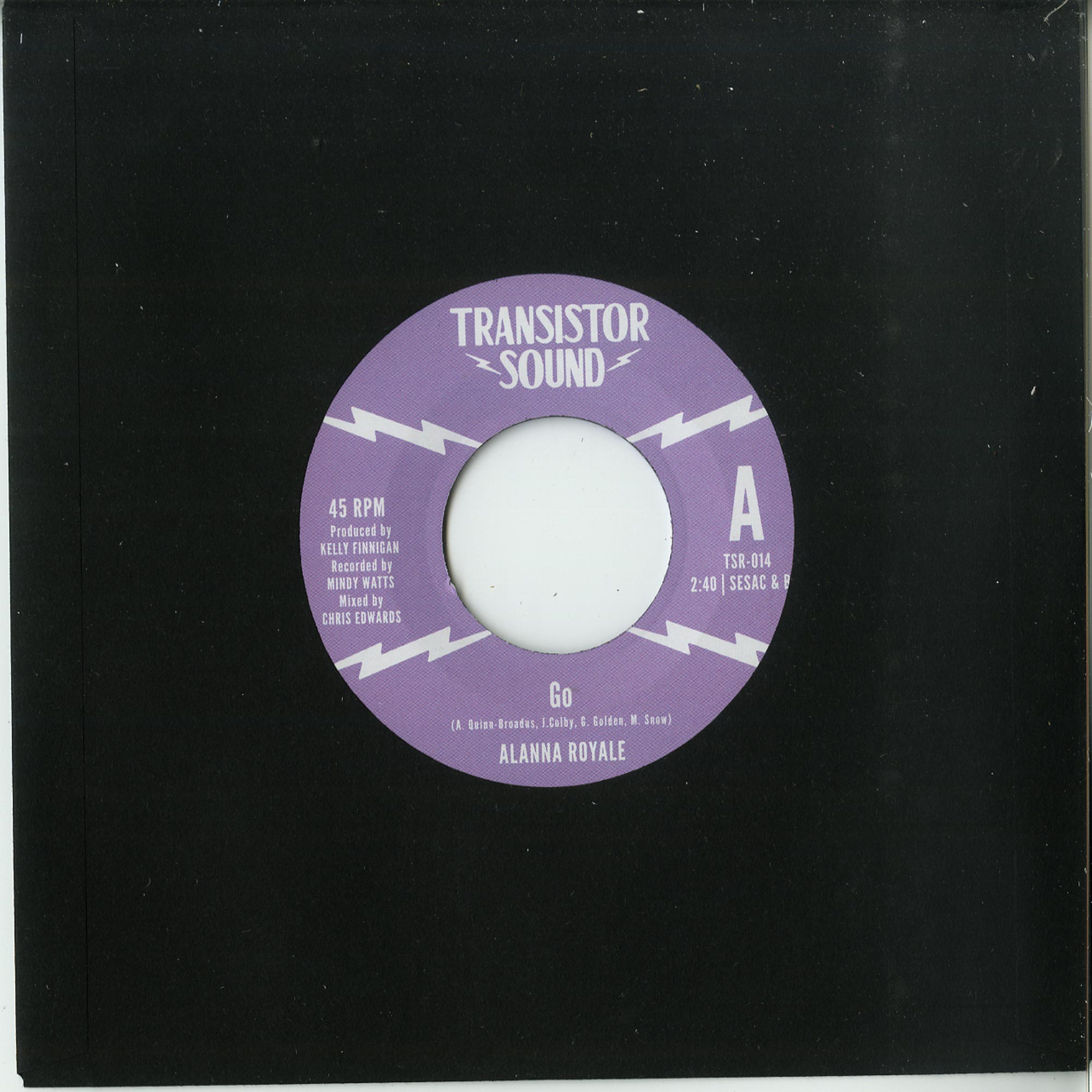 Alanna Royale - GO / I KNOW