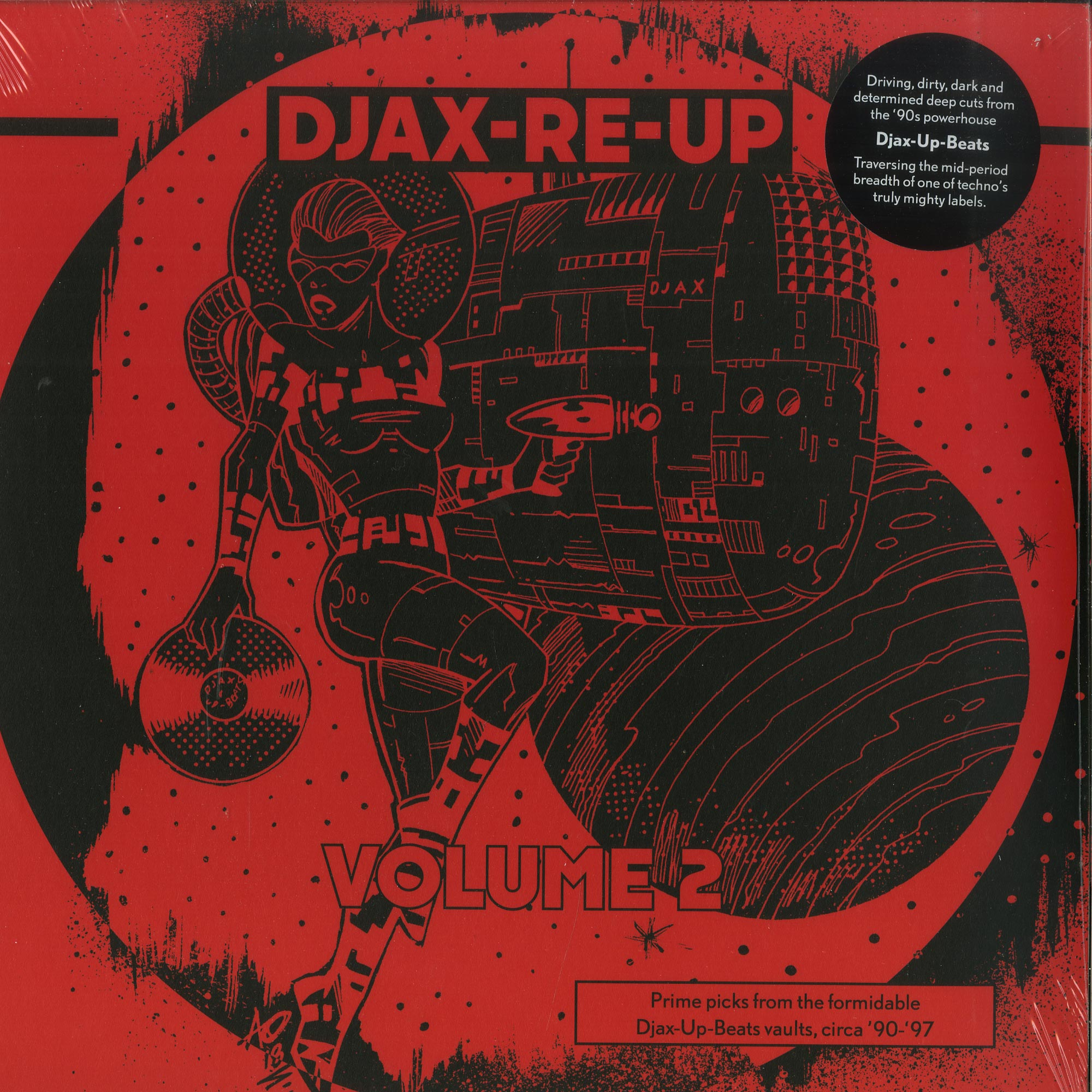 V/a - DJAX-RE-UP VOLUME 2