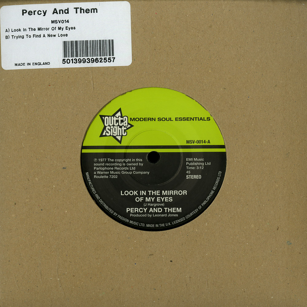 Percy And Them - LOOK IN THE MIRROR OF MY EYES