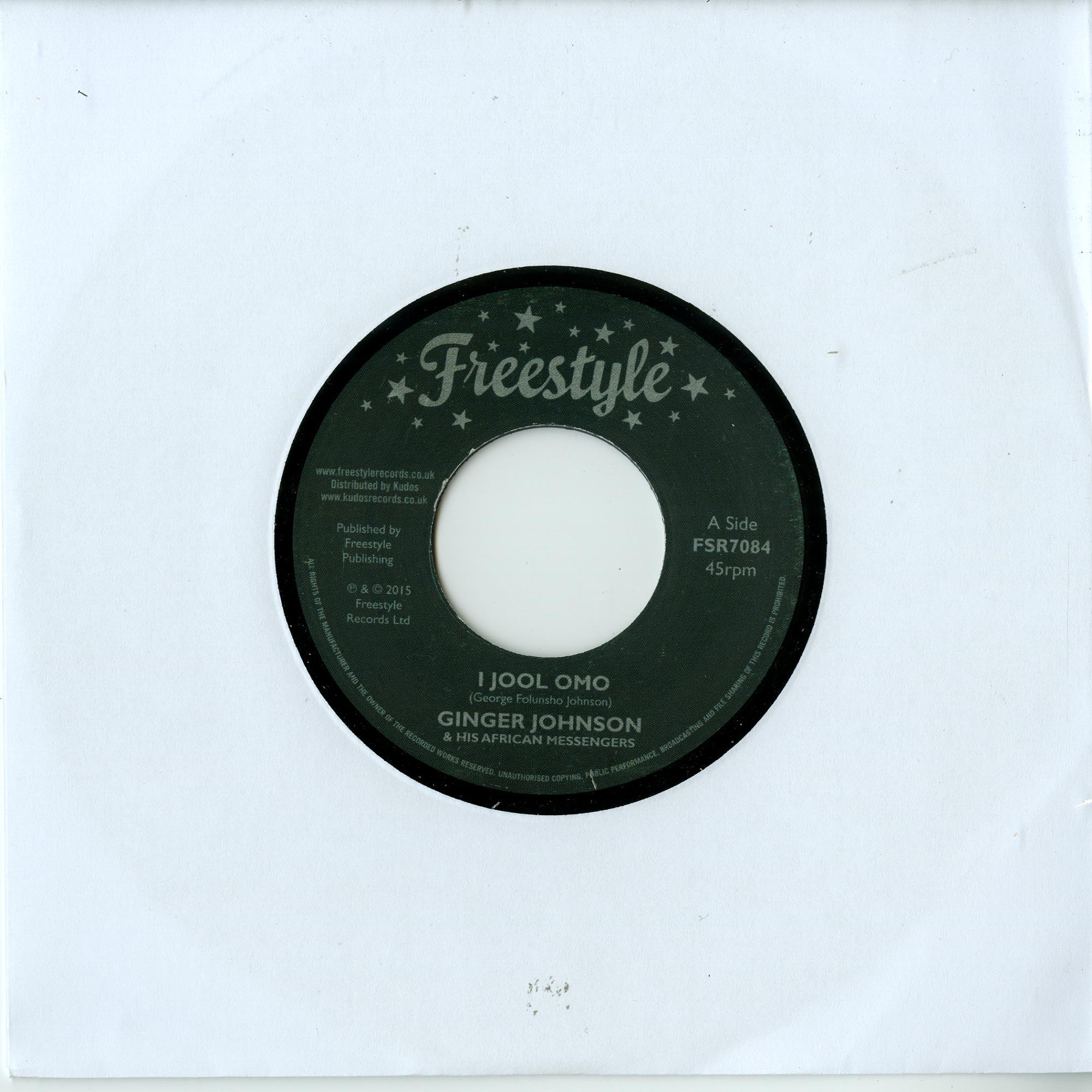 Ginger Johnson - I JOOL OMO
