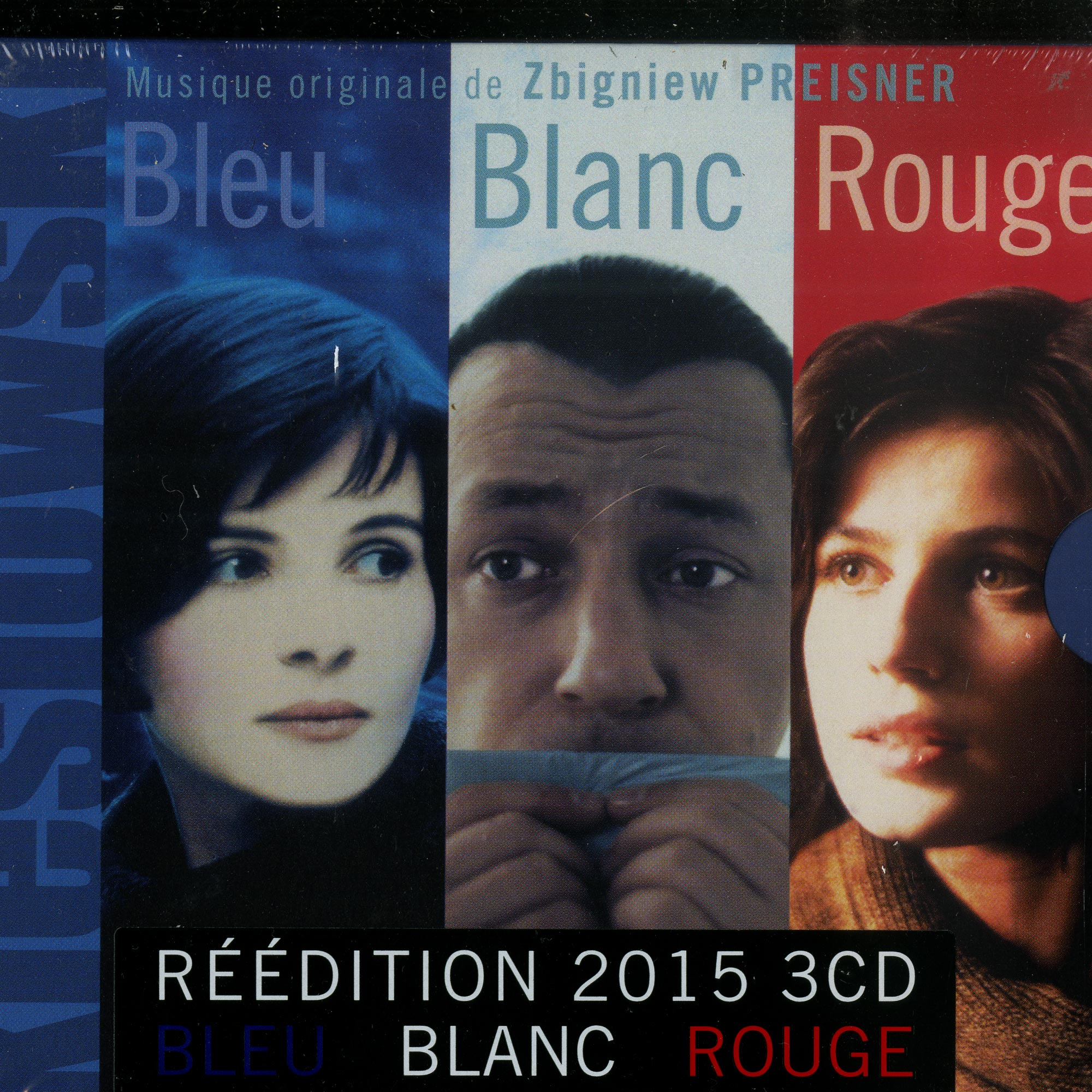 Kieslowski / Zbigniew Preisner - 3 COLORS : THE TRILOGY BLUE - WHITE - RED