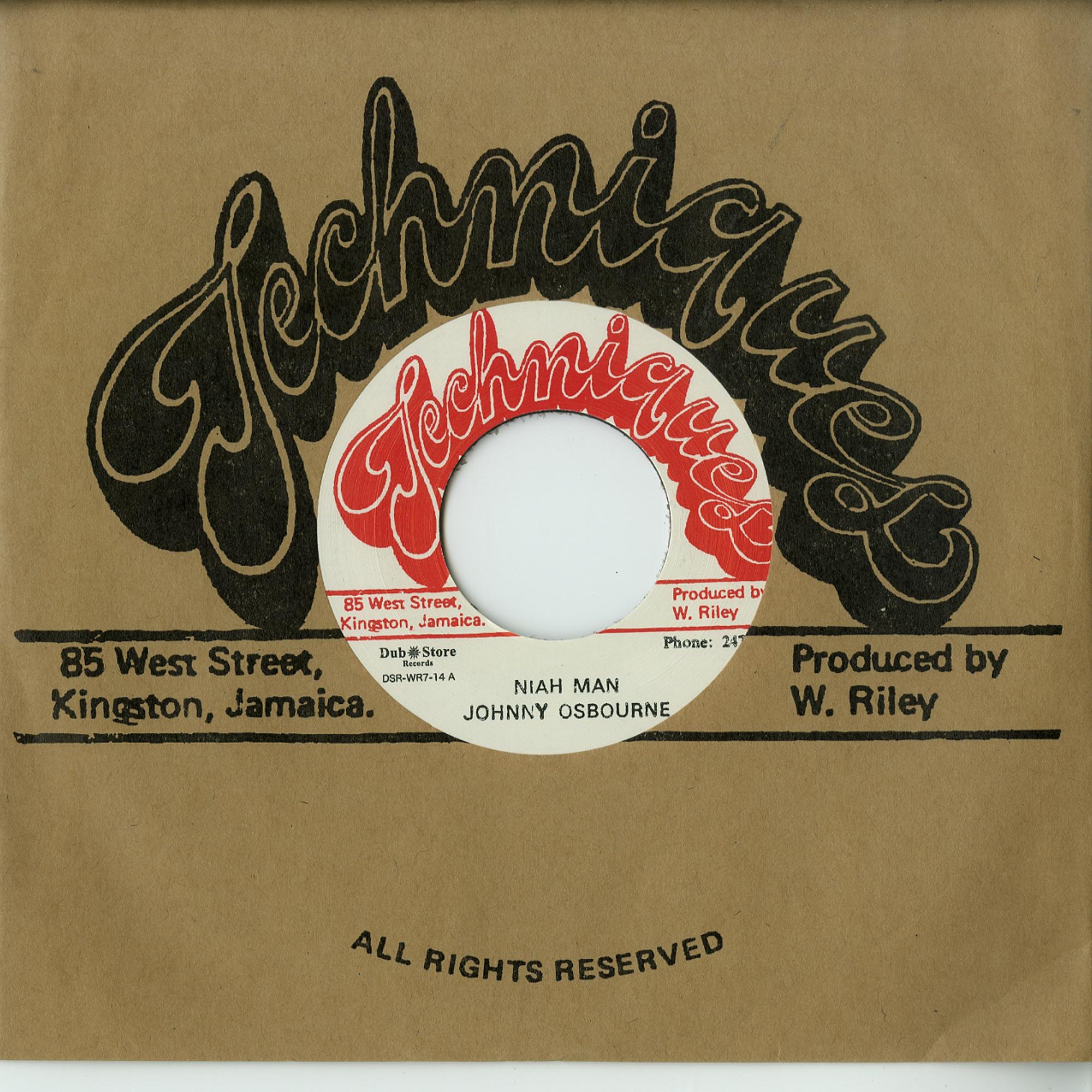 Johnny Osbourne & Alton Ellis - NIAH MAN