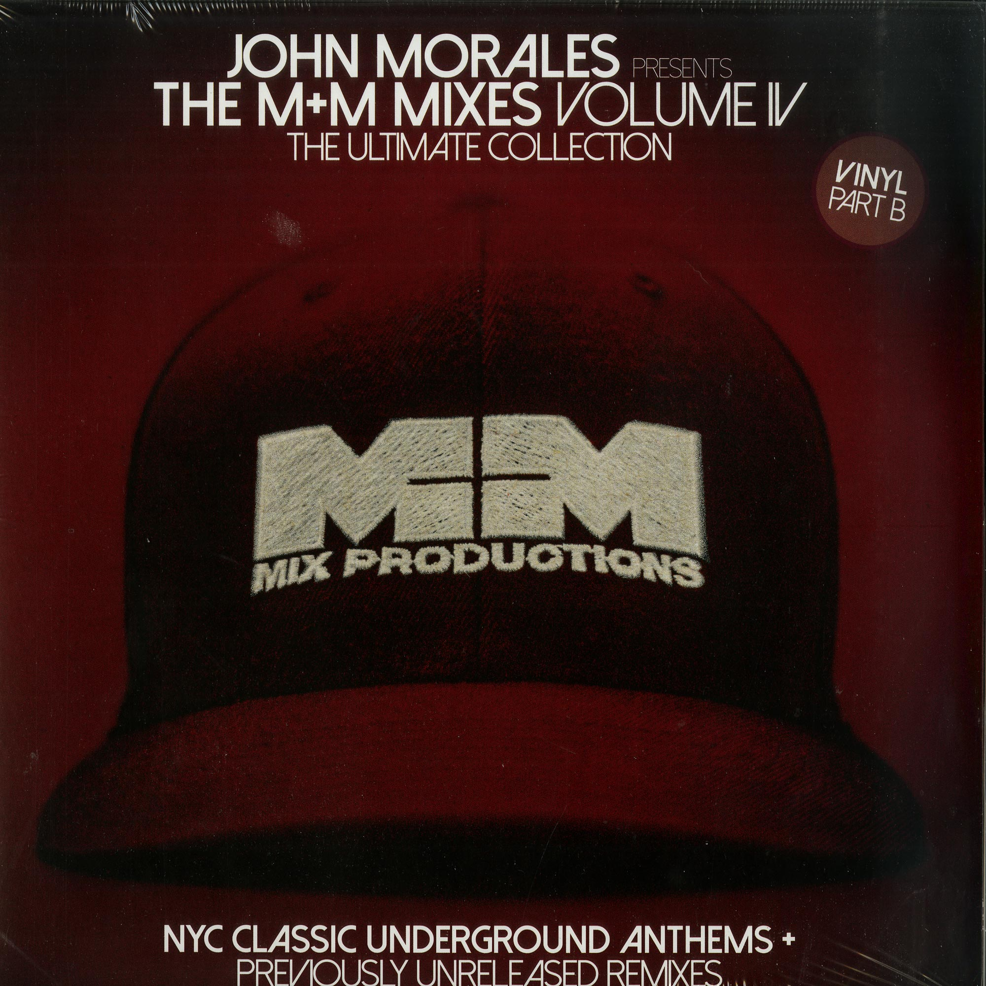 Various Artists - JOHN MORALES PRESENTS THE M+M MIXES VOL. 4 PART 2