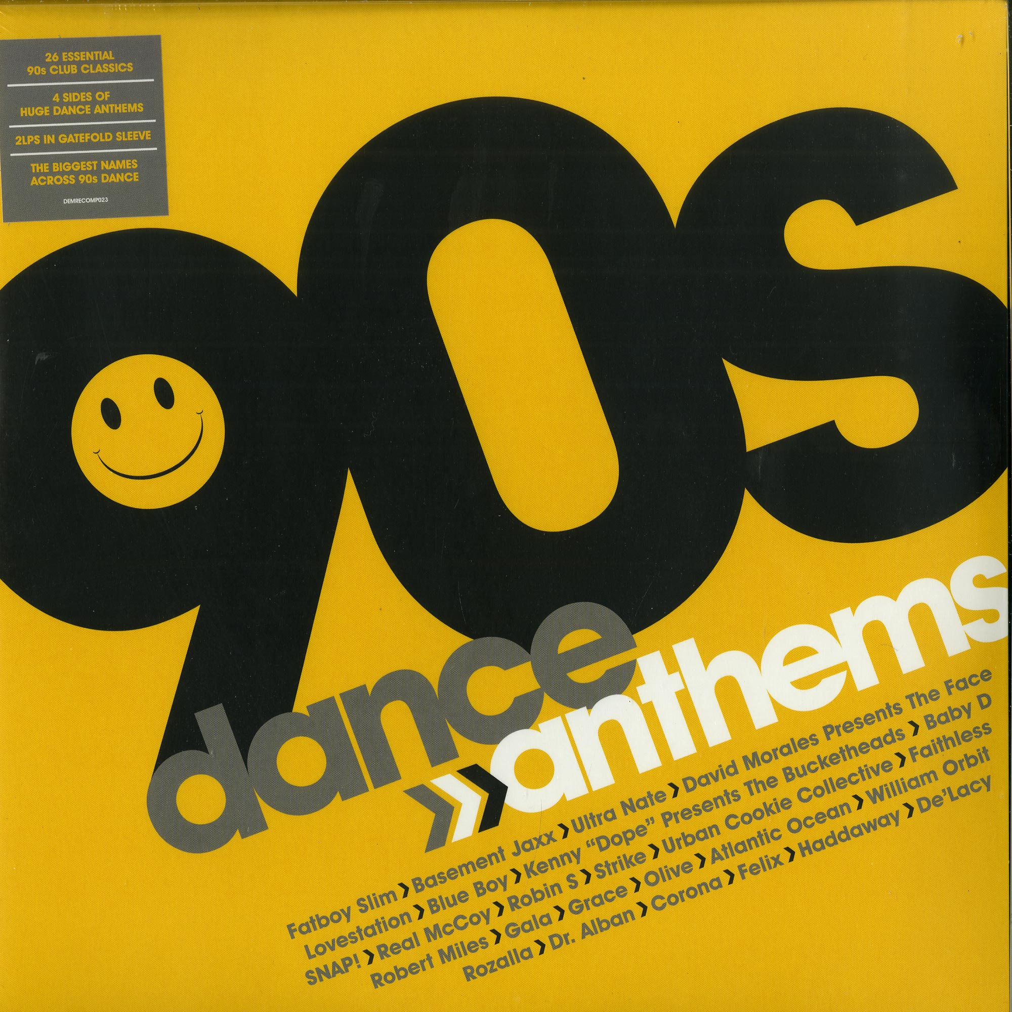 Various - 90S DANCE ANTHEMS