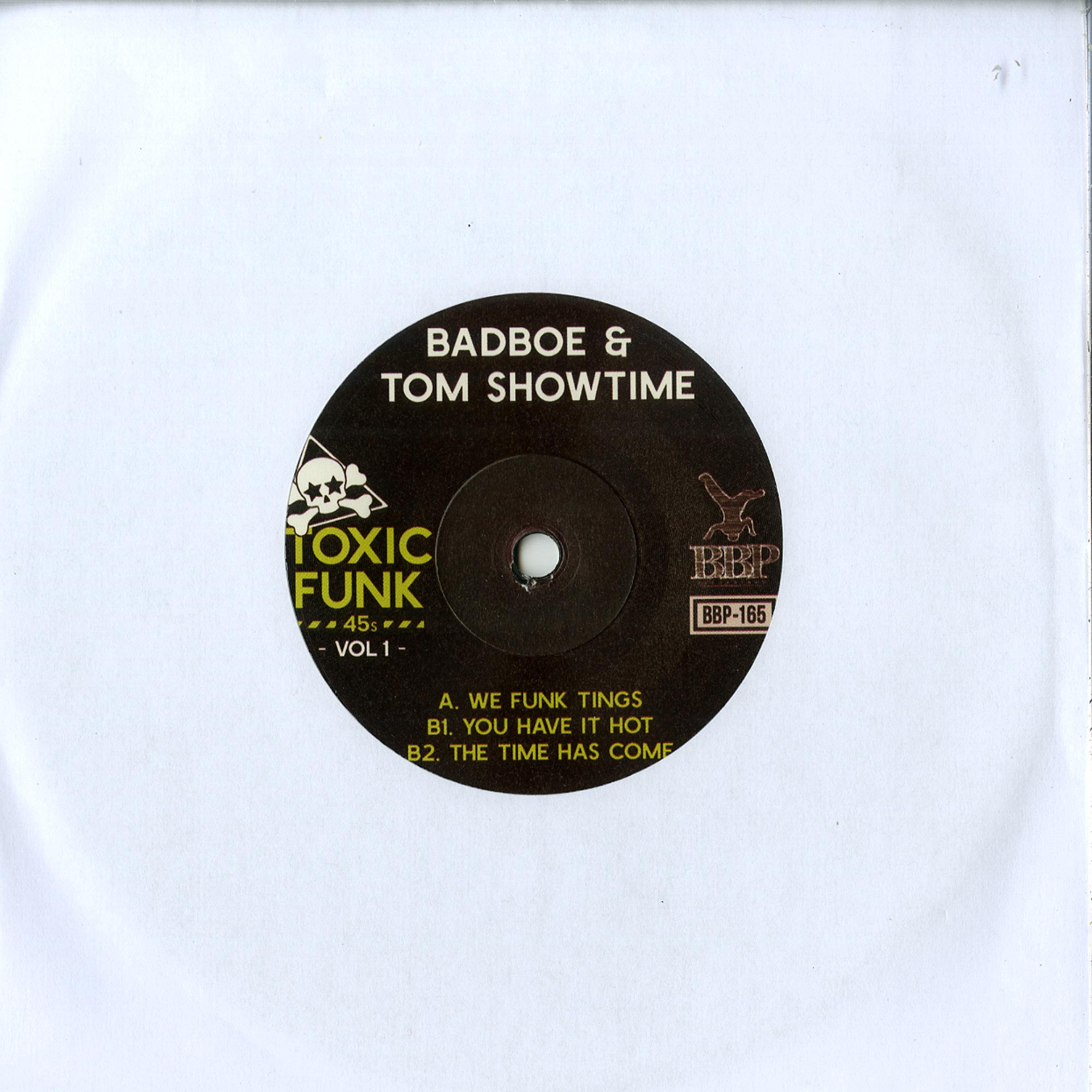 Badboe & Tom Showtime - TOXIC FUNK VOL.1