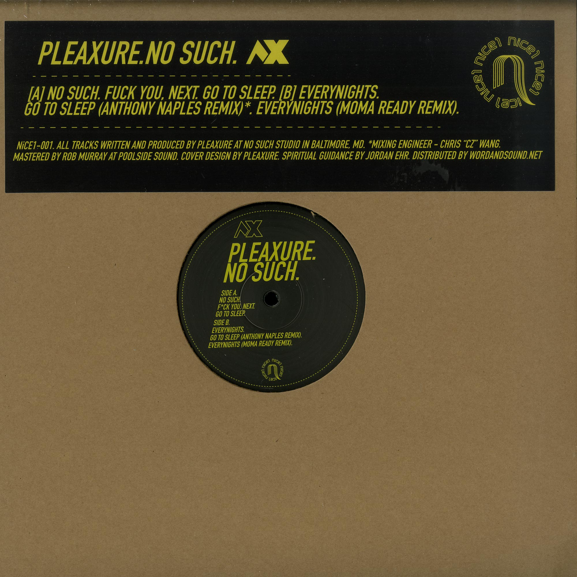 Pleaxure - NO SUCH