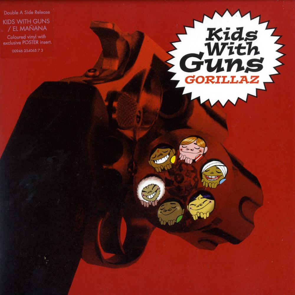 Gorillaz - EL MANANA / KIDS WITH GUNS