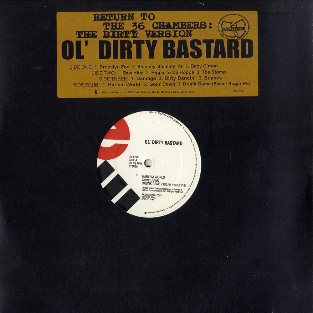 Ol Dirty Bastard - RETURN TO THE 36 CHAMBERS