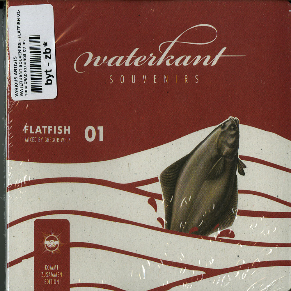 Various Artists - WATERKANT SOUVENIRS - FLATFISH 01- MIXED BY GREGOR WELZ - KOMMT ZUSAMMEN EDITION