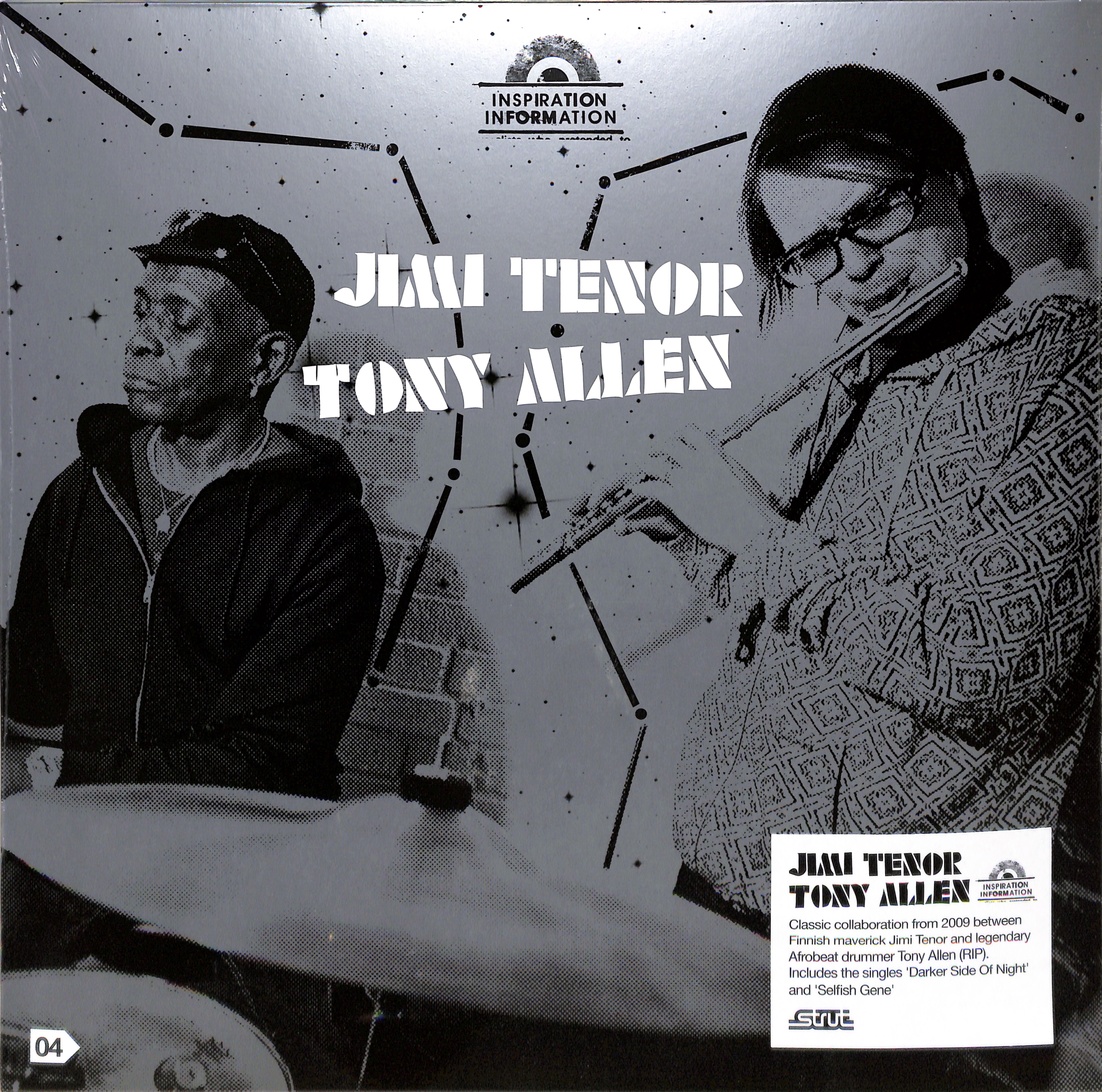 Jimi Tenor & Tony Allen - INSPIRATION INFORMATION 4