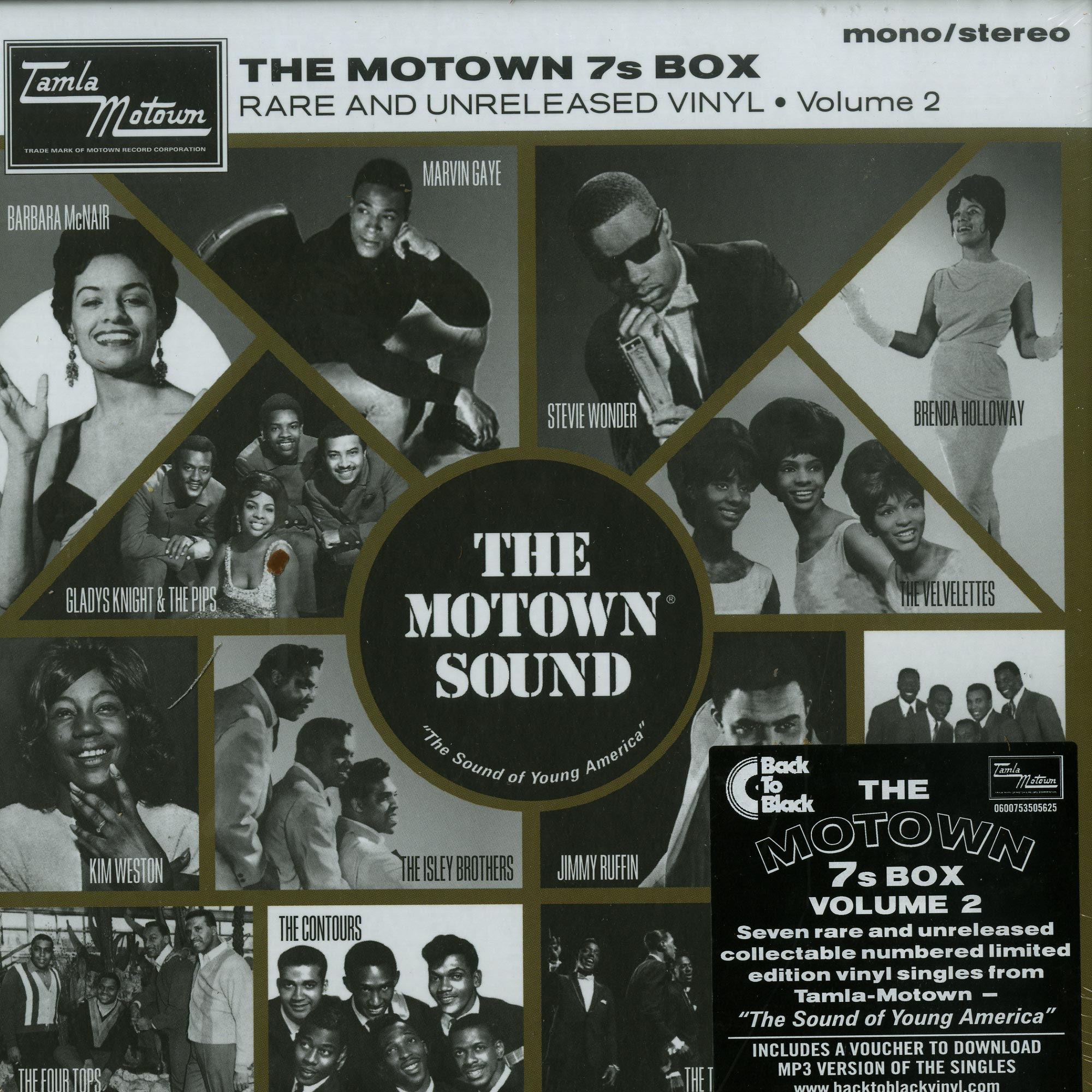 Various Artists - THE MOTOWN 7S BOX VOL. 2