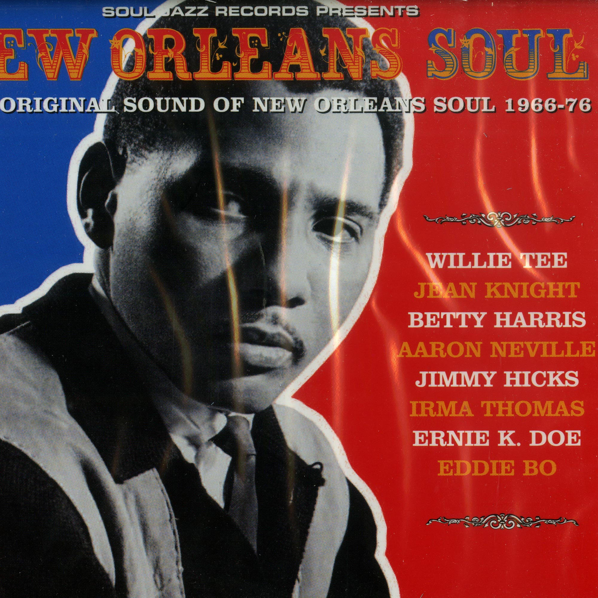 Various Artists - NEW ORLEANS SOUL: THE ORIGINAL SOUND OF NEW ORLEANS SOUL 1966-76