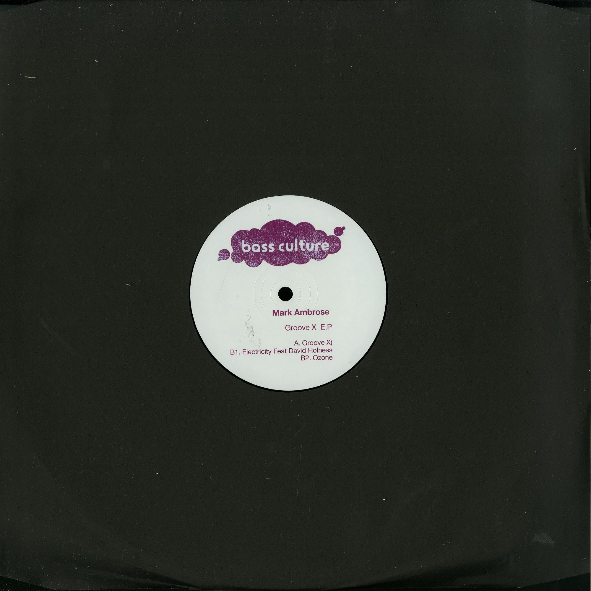 Mark Ambrose - GROOVE X EP