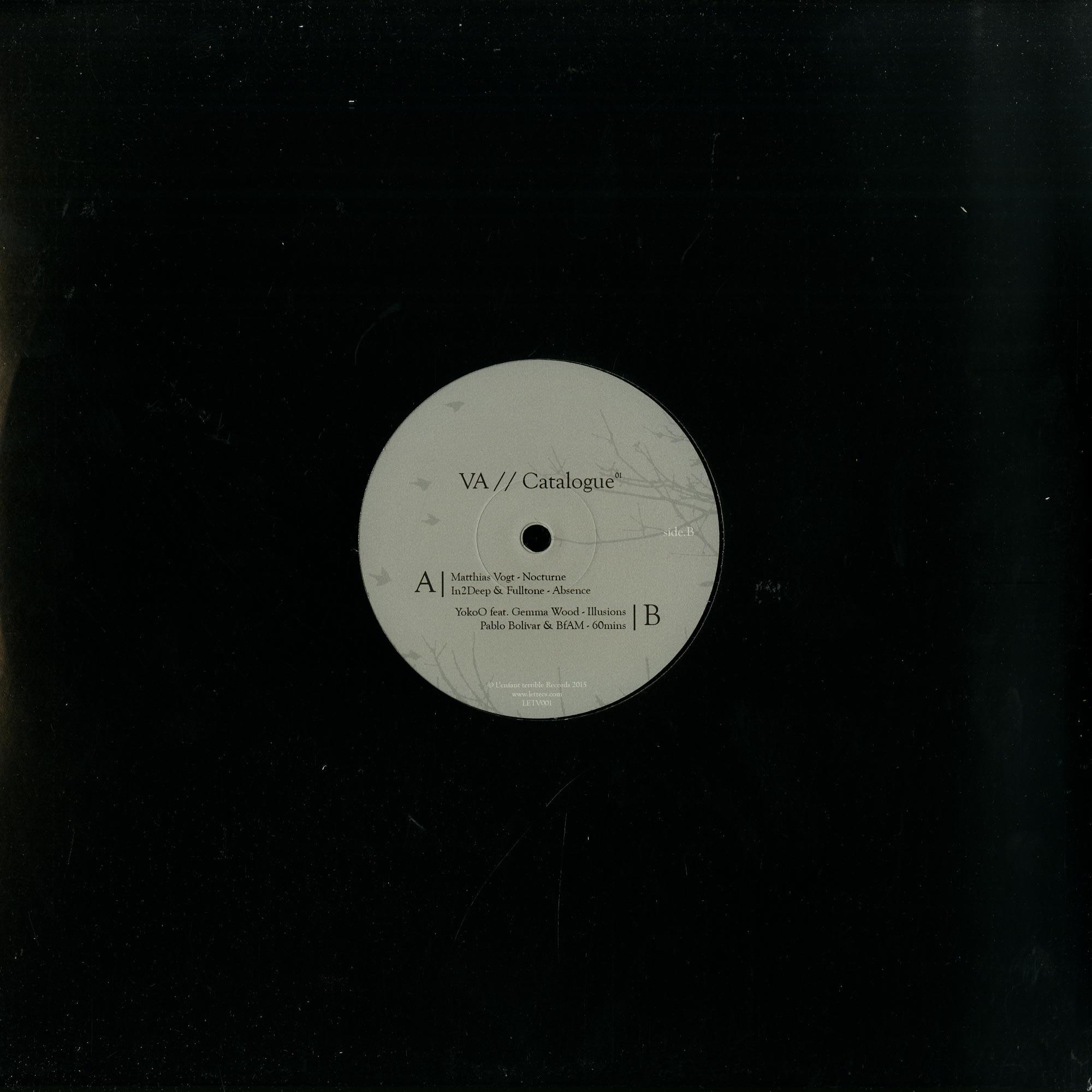 Various - CATALOGUE01