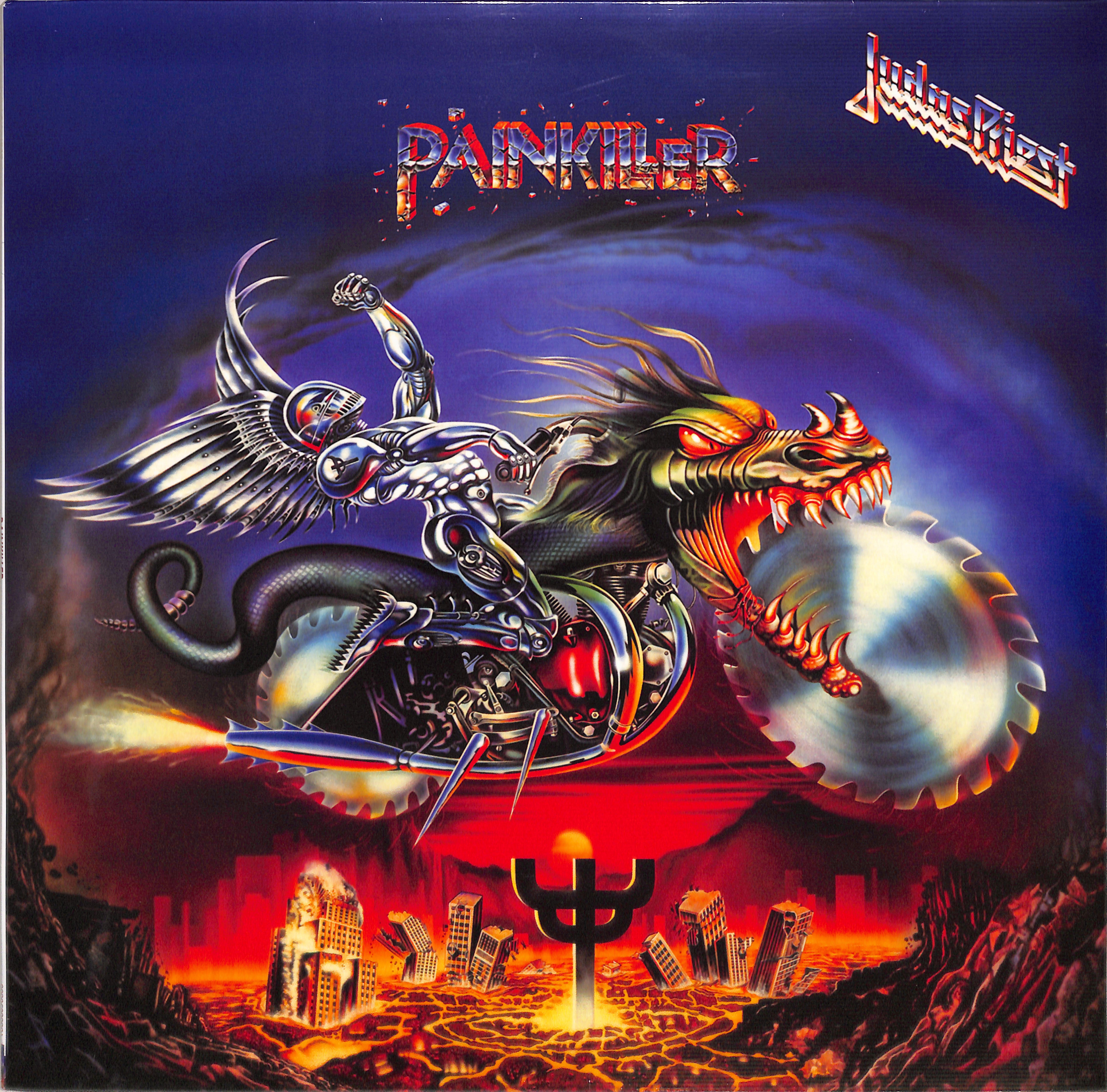 Judas Priest Painkiller Decks De Vinyl Shop