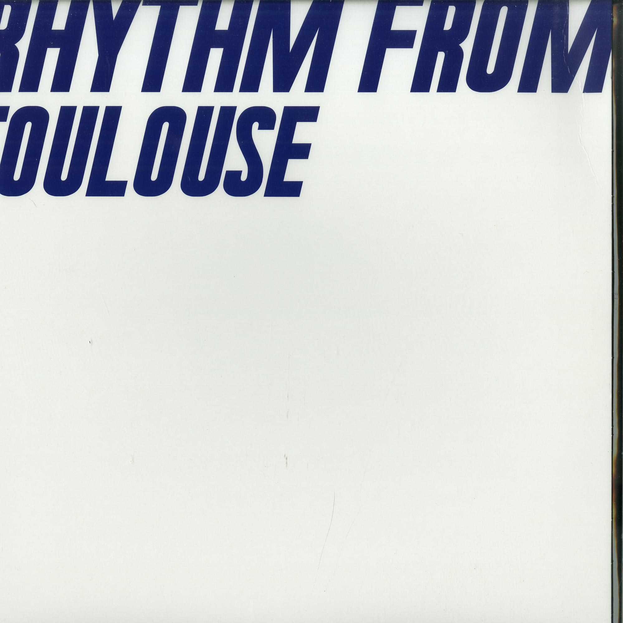 Various Artists - RHYTHM FROM TOULOUSE