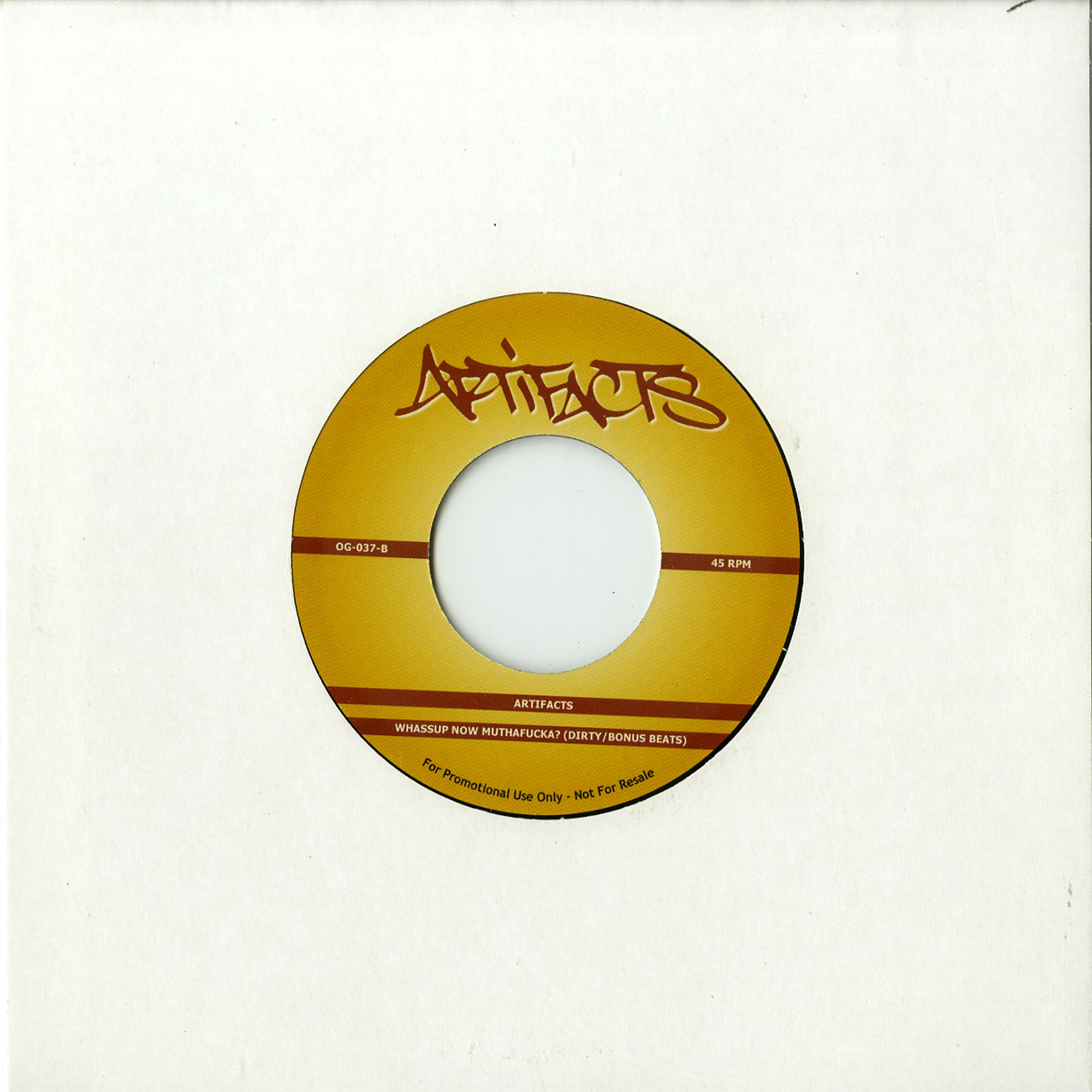 Joe Farrell / The Artifacts - UPON THIS ROCK / WHASSUP NOW MOTHAFUCKA
