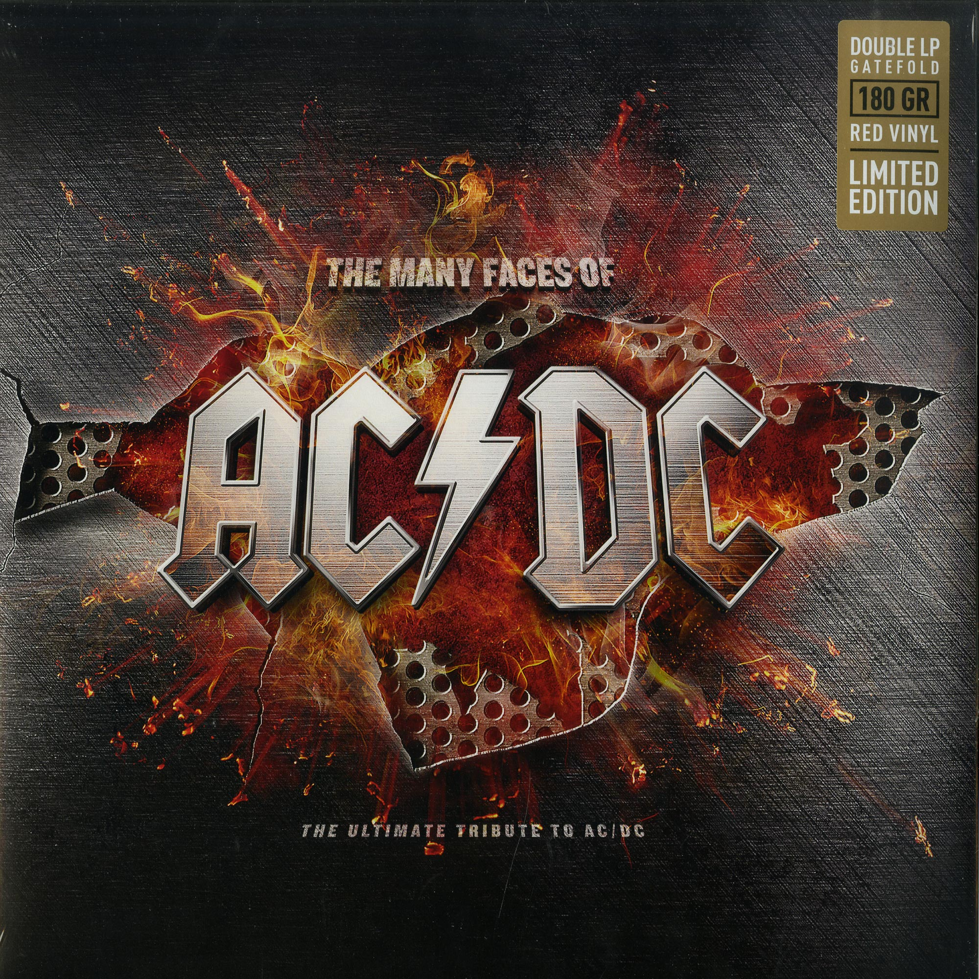 Various Artists - THE MANY FACES OF AC/DC