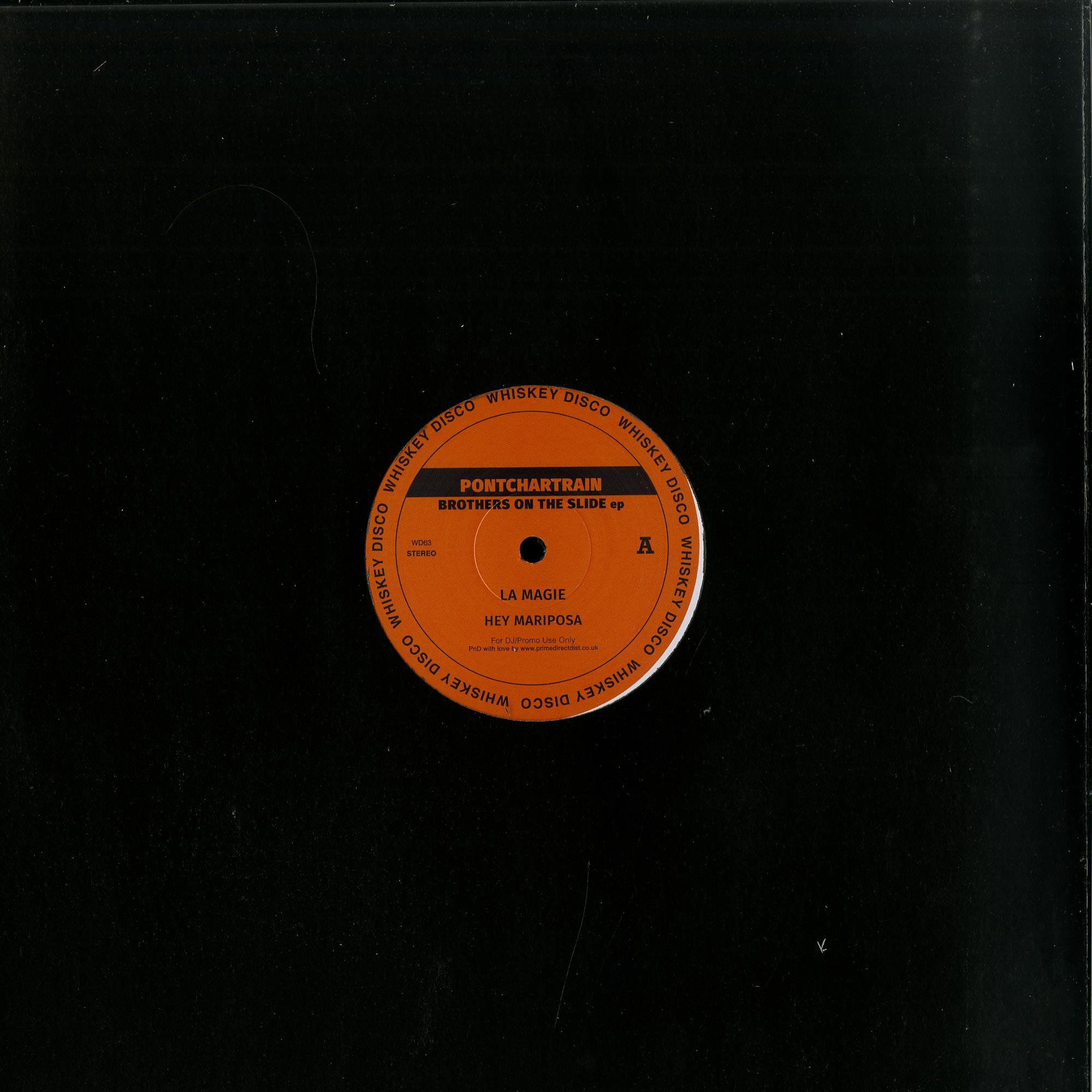 Pontchartrain / ThatManMonkz - BROTHERS ON THE SLIDE EP