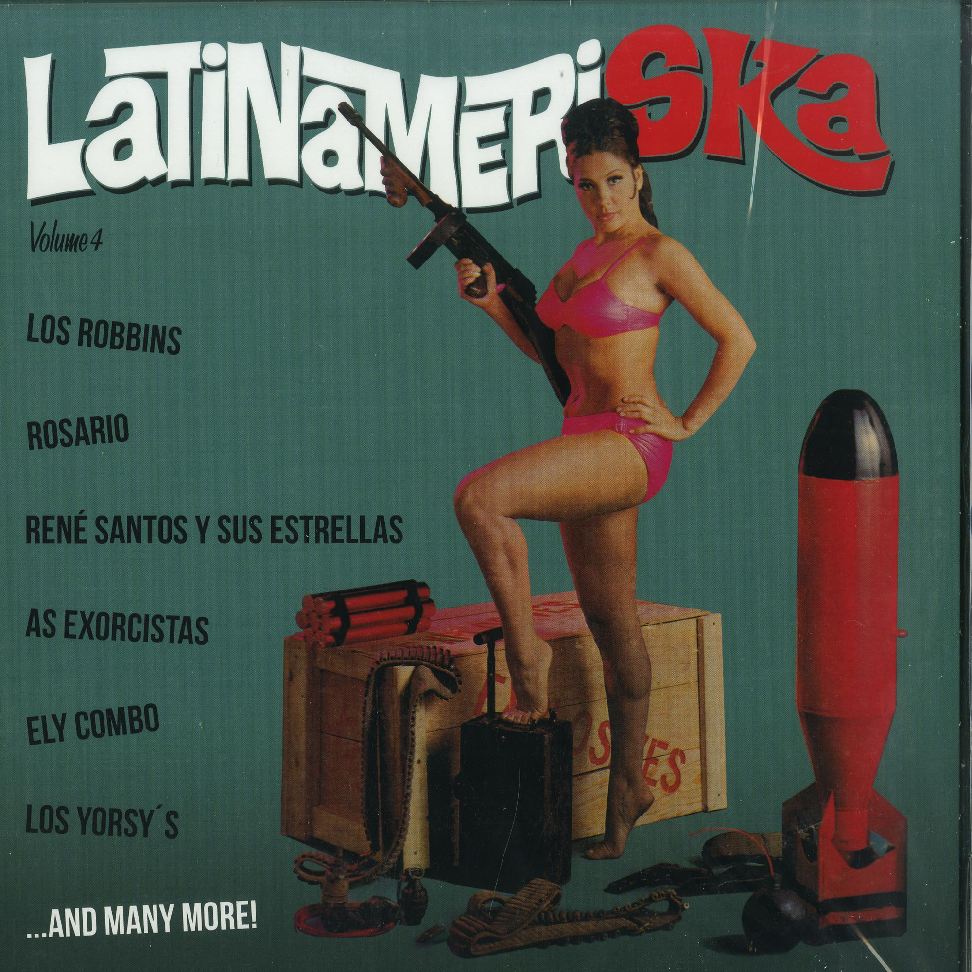 Various Artists - LATINAMERISKA VOL. 4