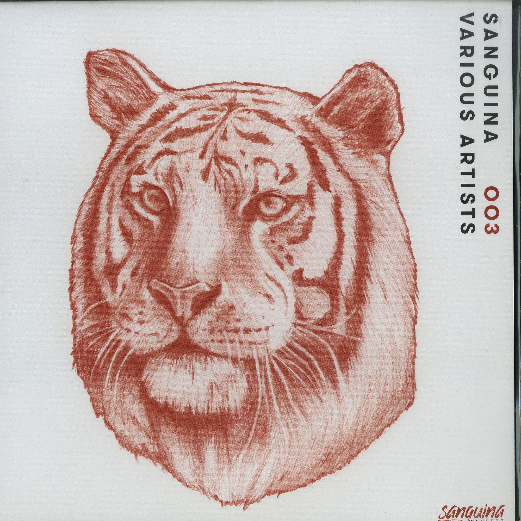 Herck, Mendoza & Miguelle, Michel Degen, Fulvio Cala - SANGUINA 003 - VARIOUS ARTISTS