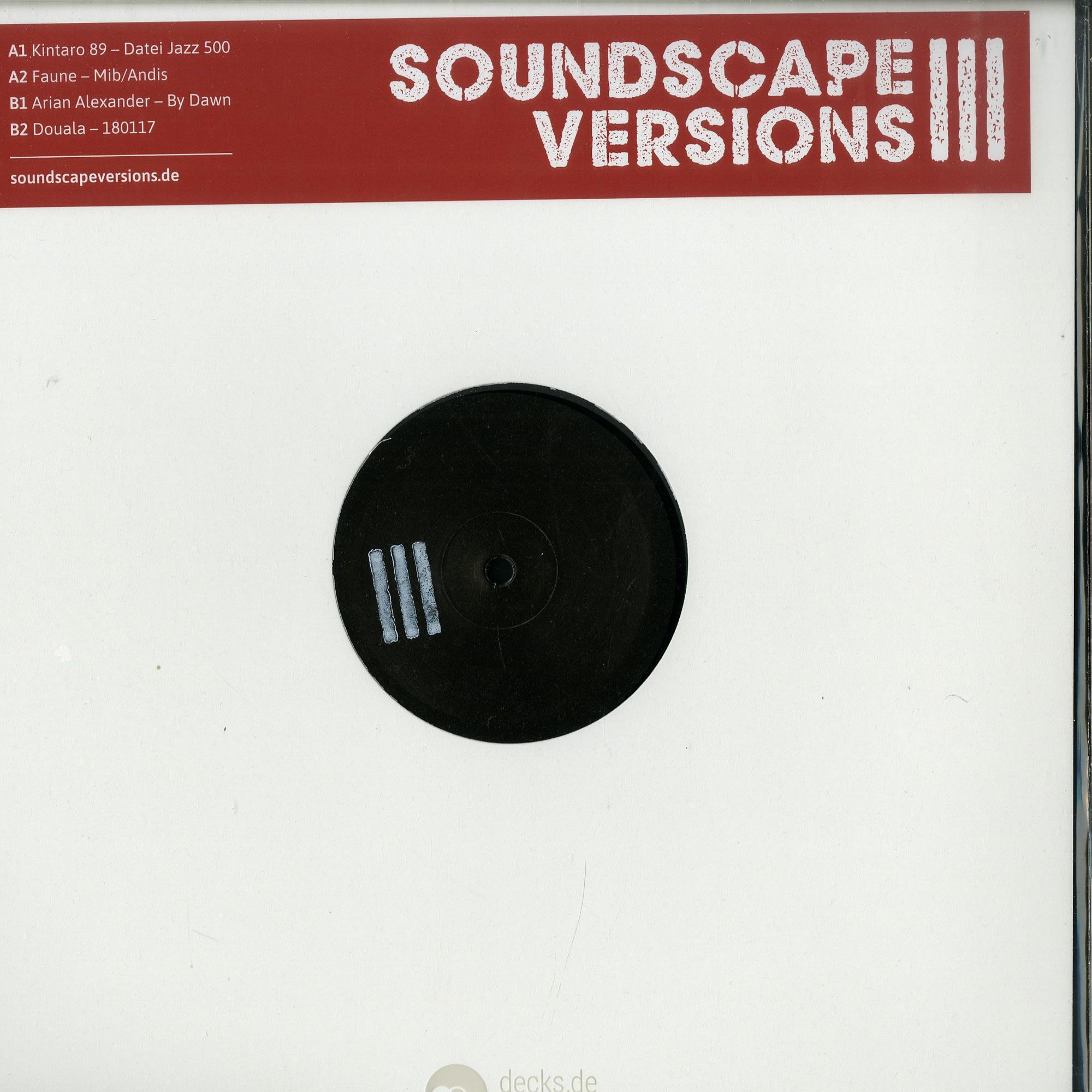 Various Artists - SOUNDSCAPE VERSIONS 03 EP