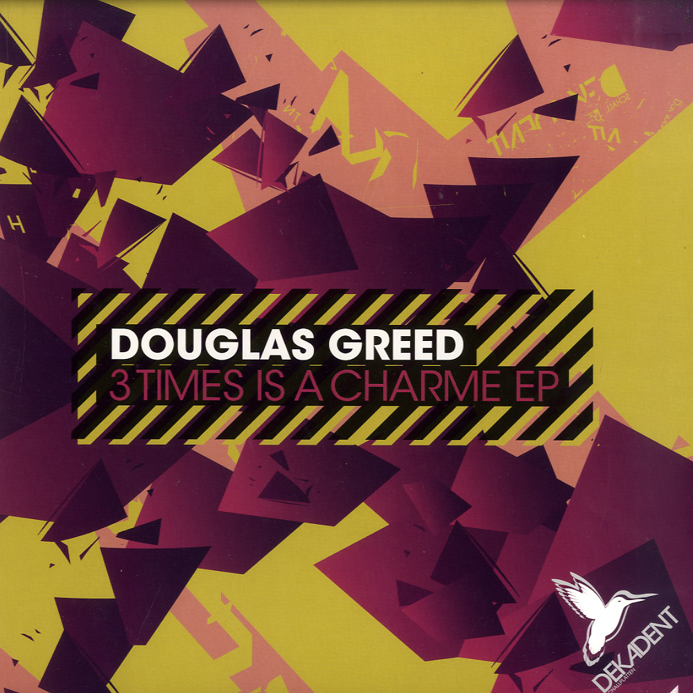 Douglas Greed - 3 TIMES IS A CHARME EP