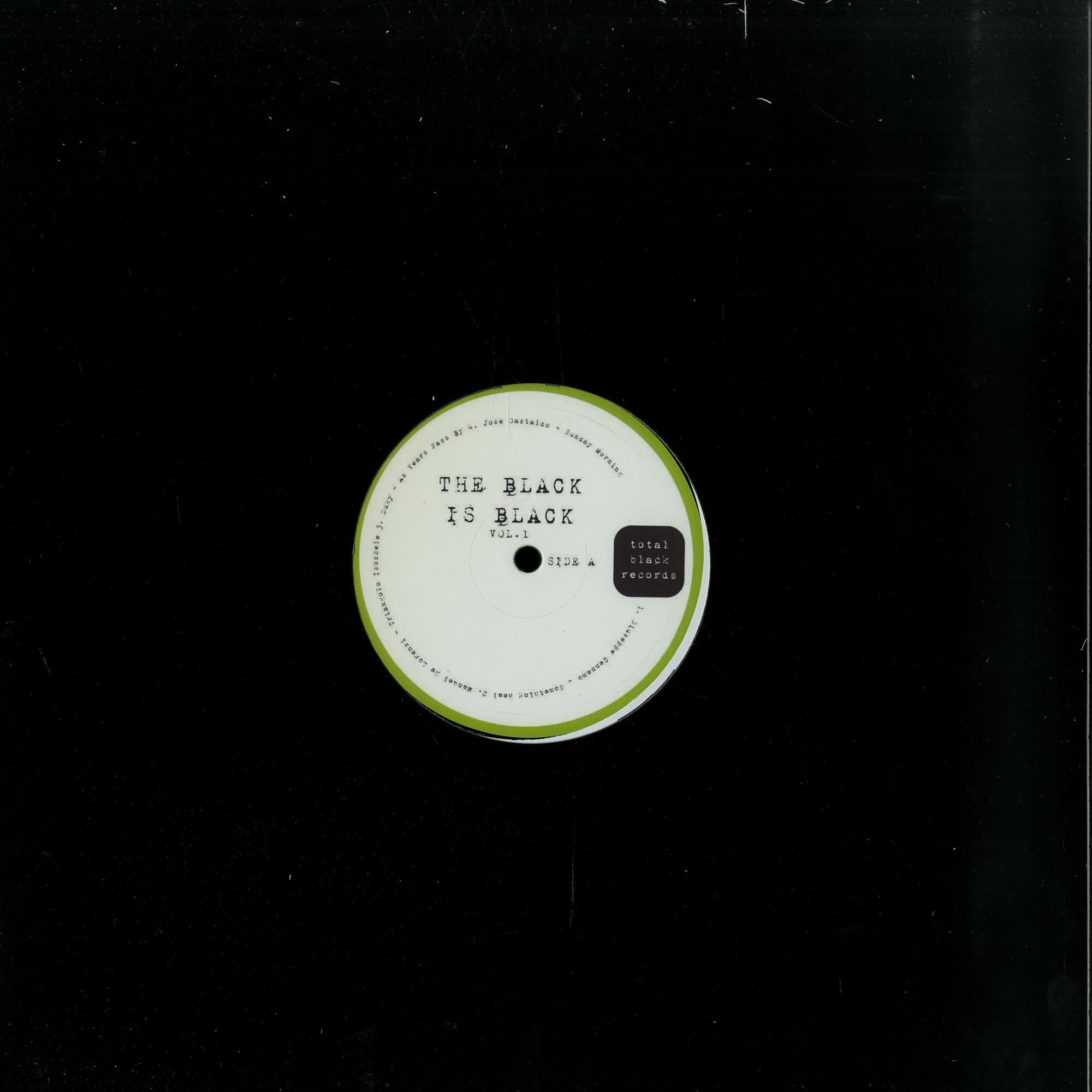 Giuseppe Cennamo , Manuel De Lorenzi , Duky , Jose Gastaldo - THE BLACK IS BLACK VOL.1