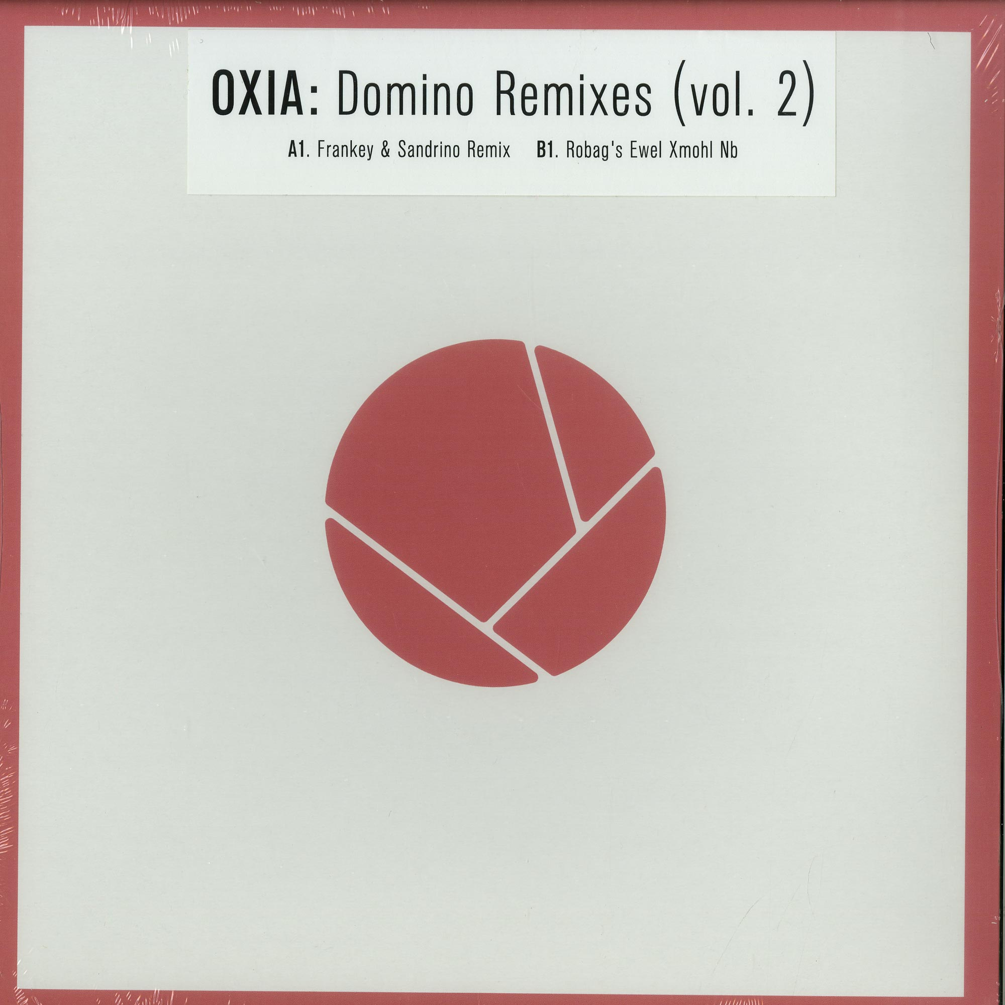 Oxia Domino Remixes Ep Pt 2 Vinyl Shop