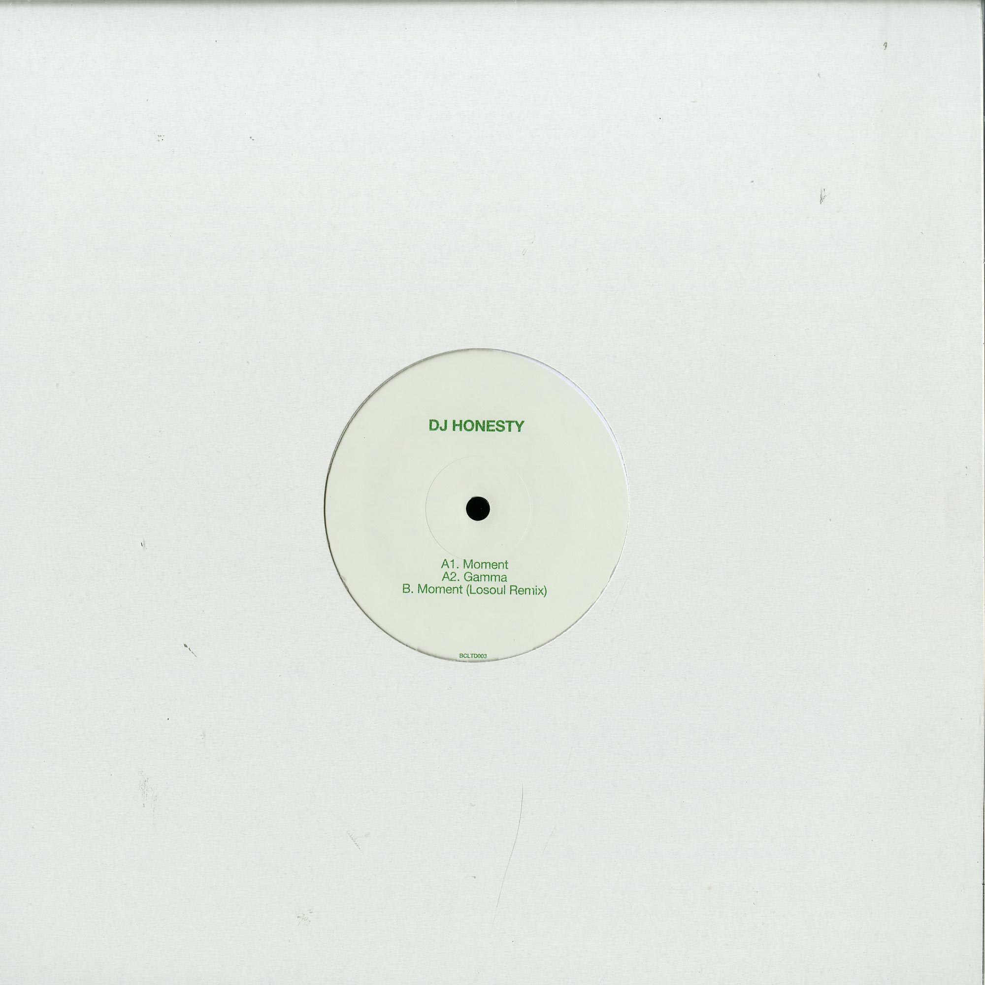 DJ Honesty - MOMENT - LOSOUL RMX