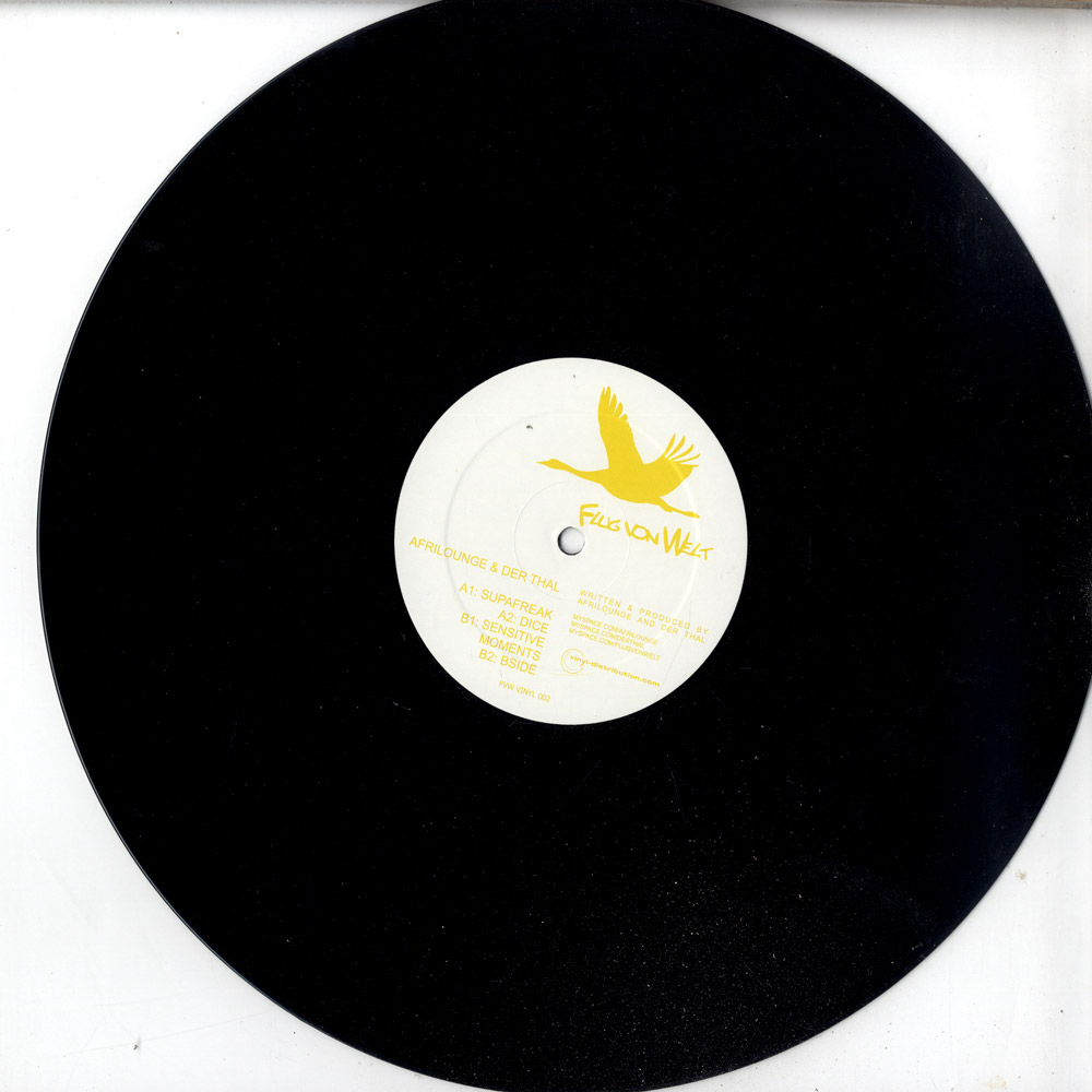 Afrilounge & Der Thal - SUPAFREAK EP
