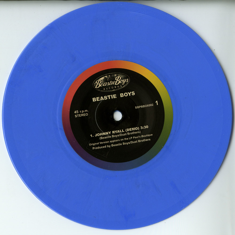 Beastie Boys - JOHNNY RYALL / EGG MAN