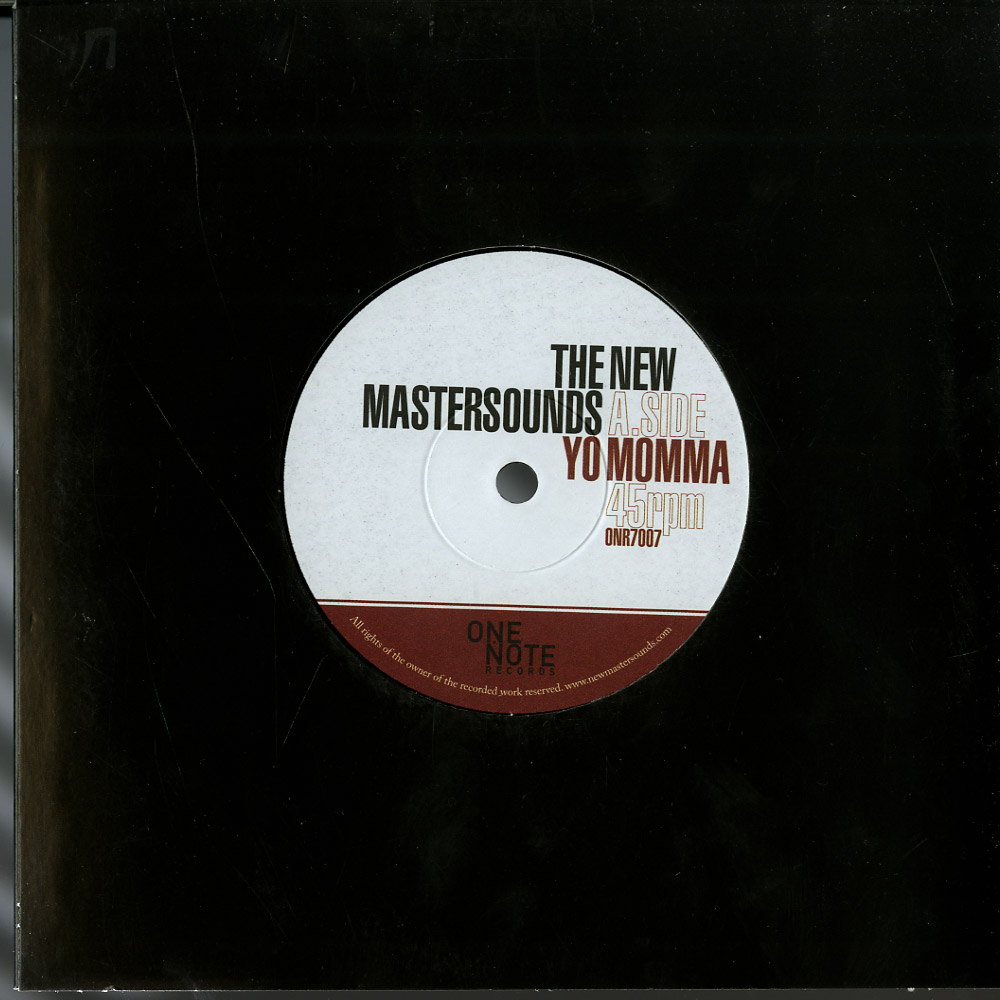 The New Mastersounds - YO MAMMA / YOU MESS ME UP