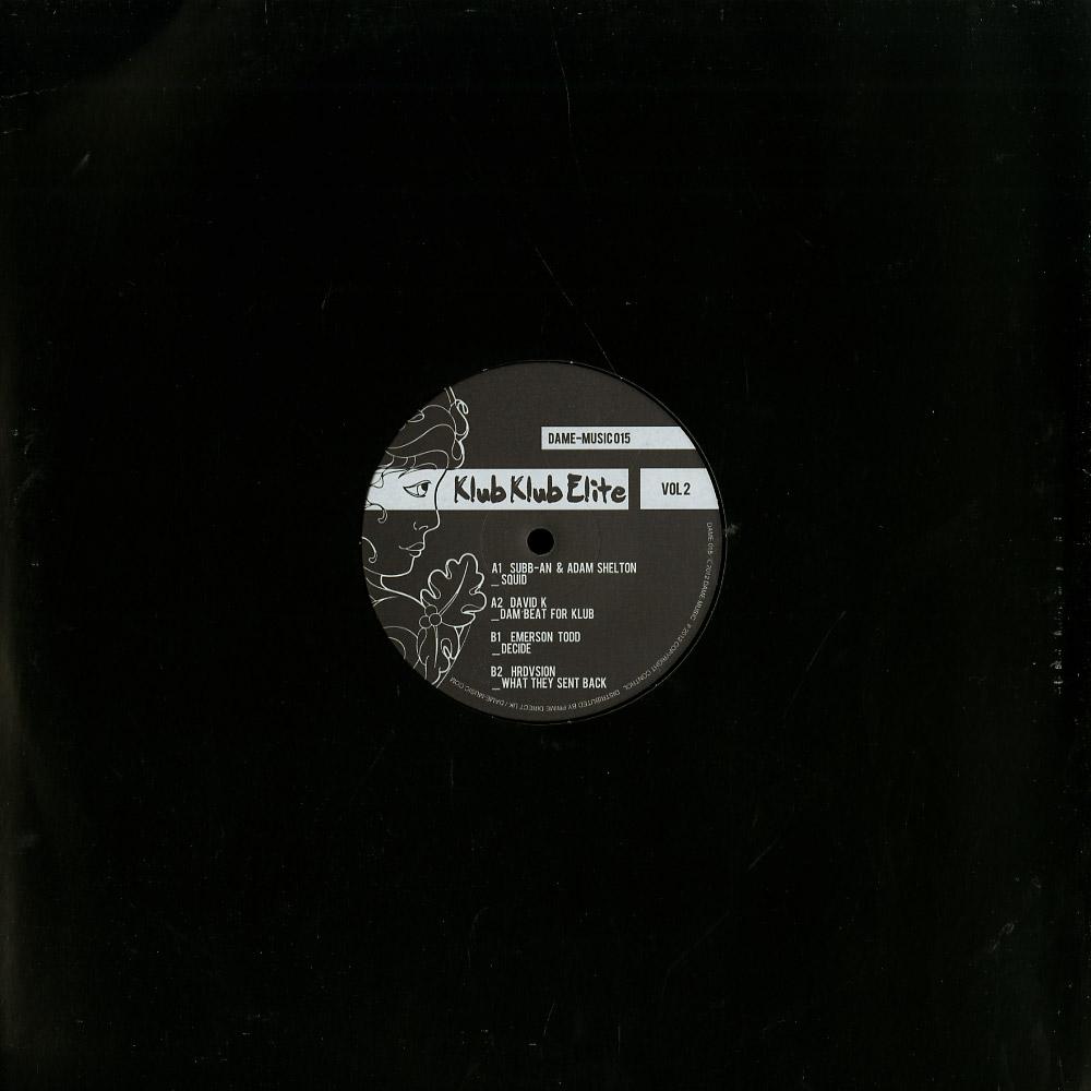 Various Artists - KLUB KLUB ELITE VOL. 2