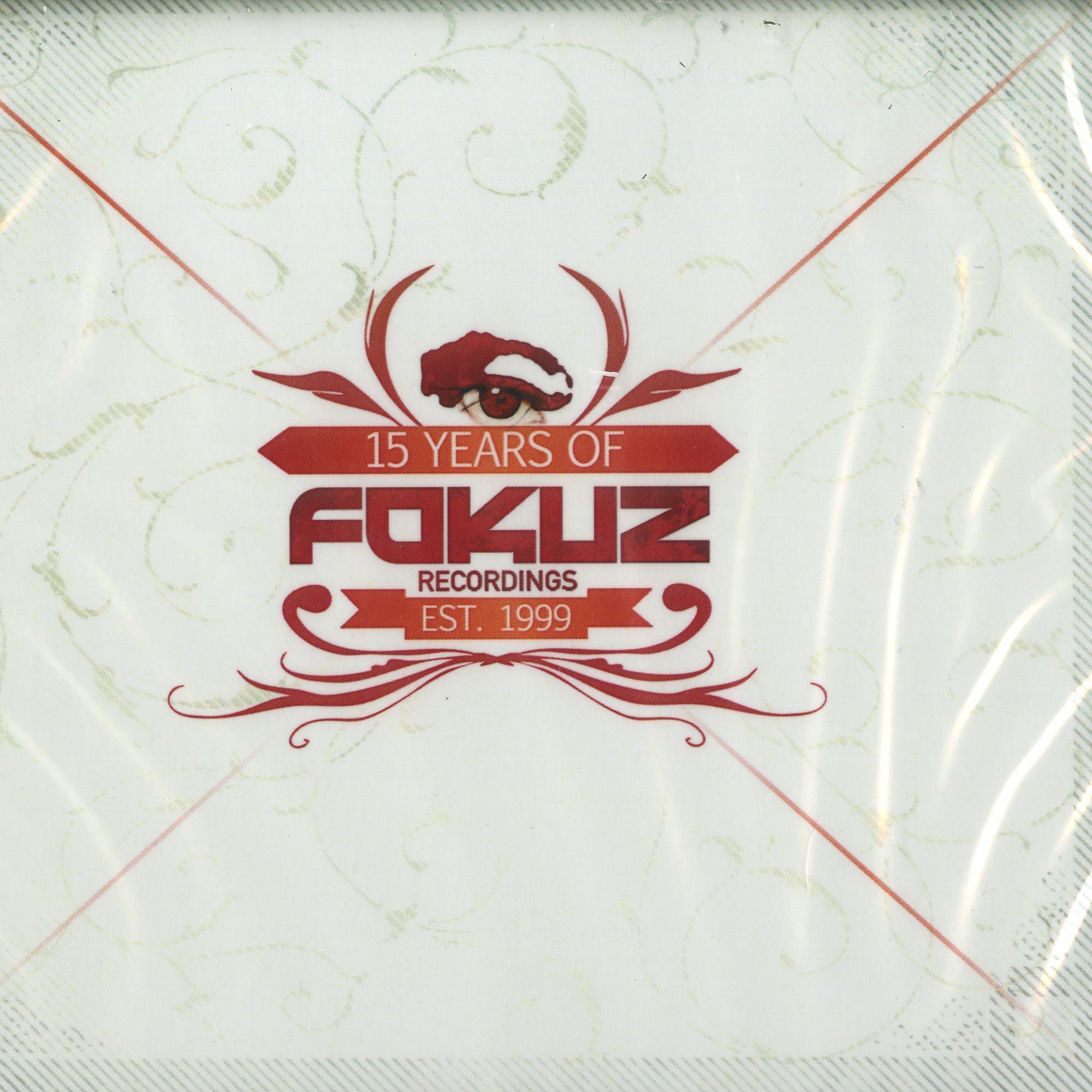 Various Artists - 15 YEARS OF FOKUZ