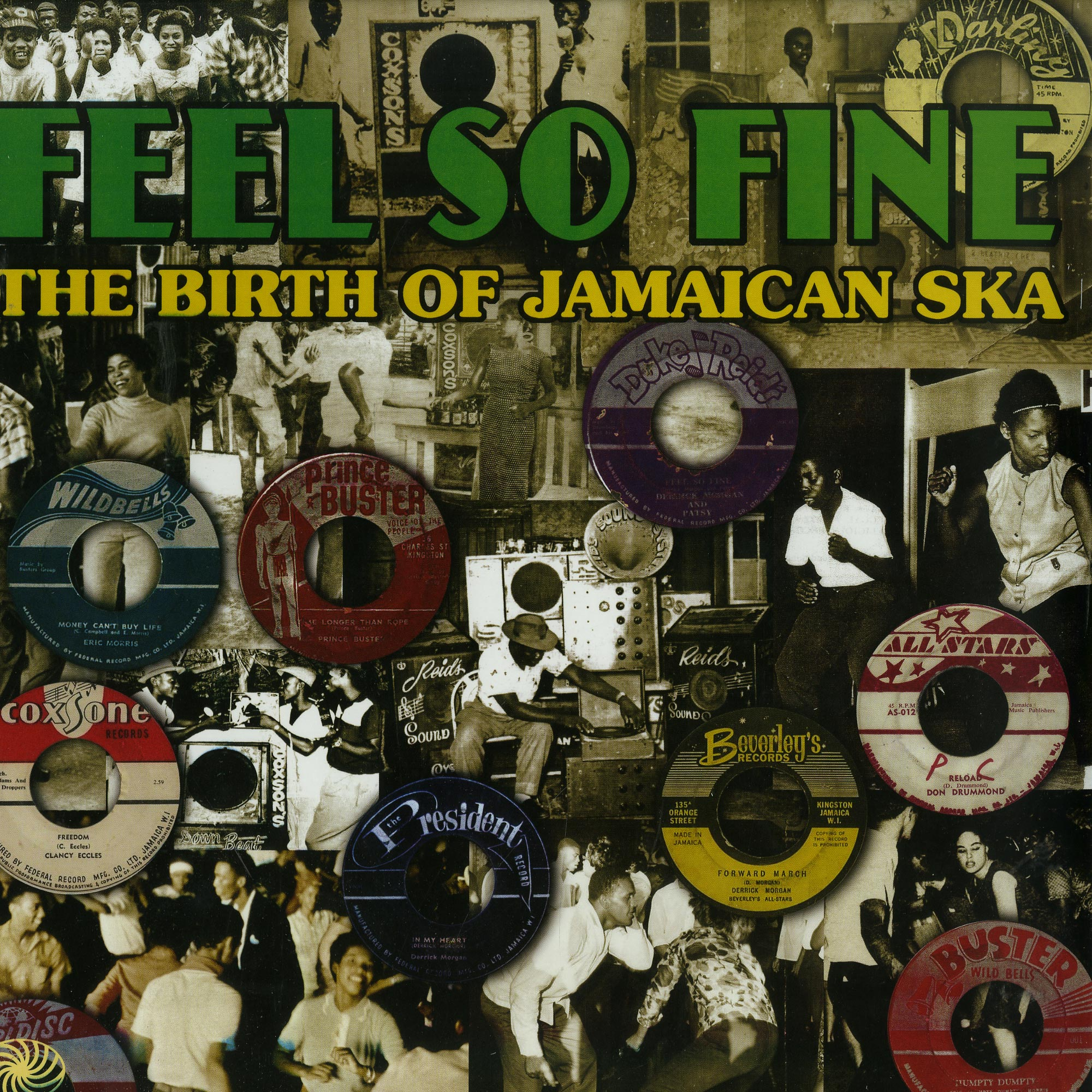 Various Artists - FEEL SO FINE: THE BIRTH OF JAMAICAN SKA